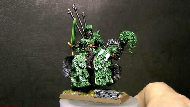 Catattafish, Green, Knights, Warhammer Fantasy