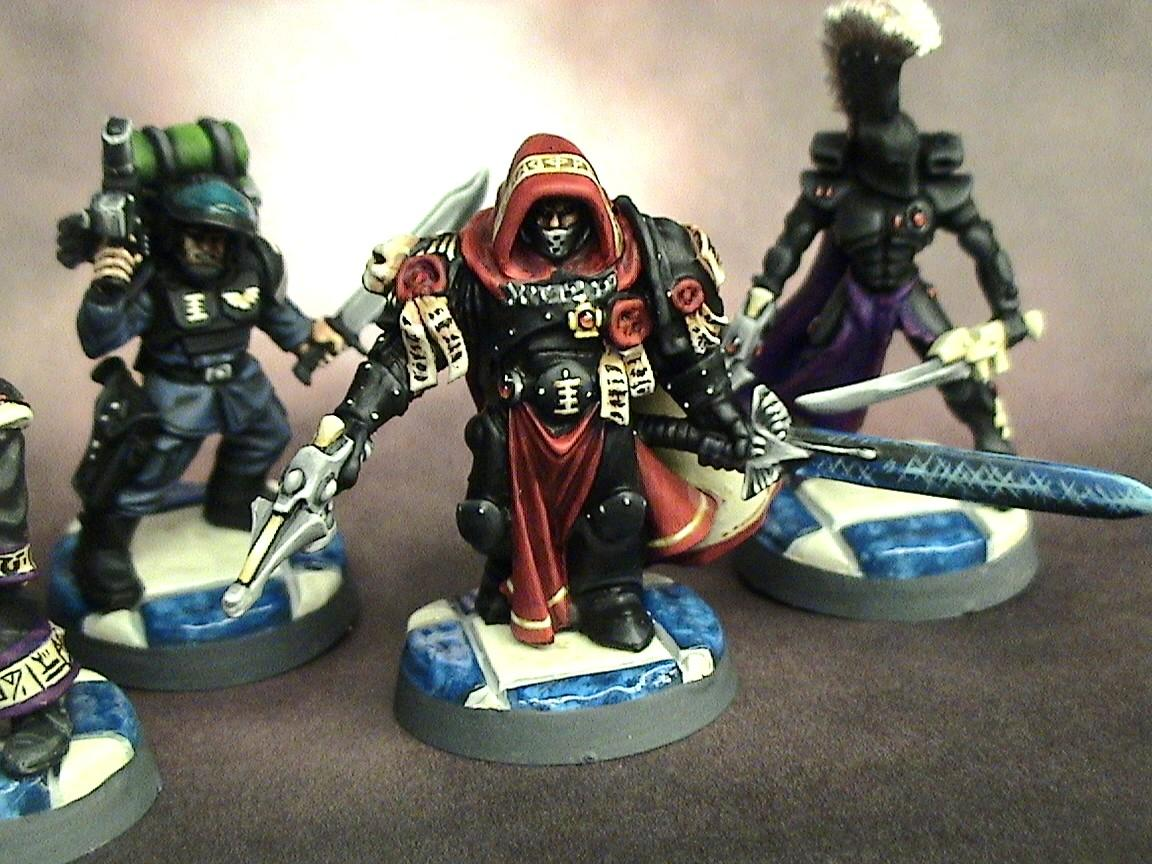 =][=munda, Henchmen, Imperial Guard, Inquisition, Inquisitor, Quarter Master, Warhammer 40,000