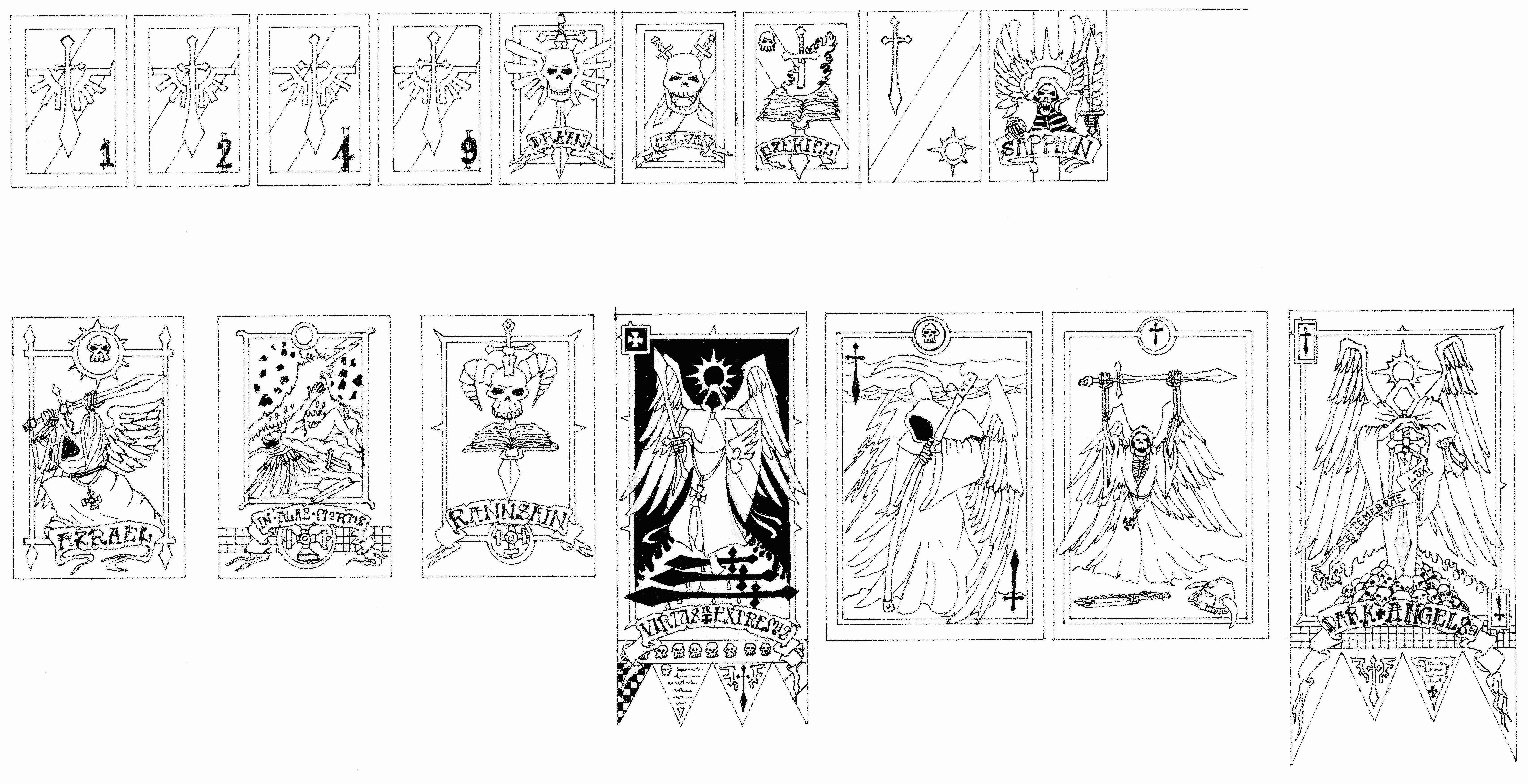 Banner, Dark Angels, Warhammer 40,000