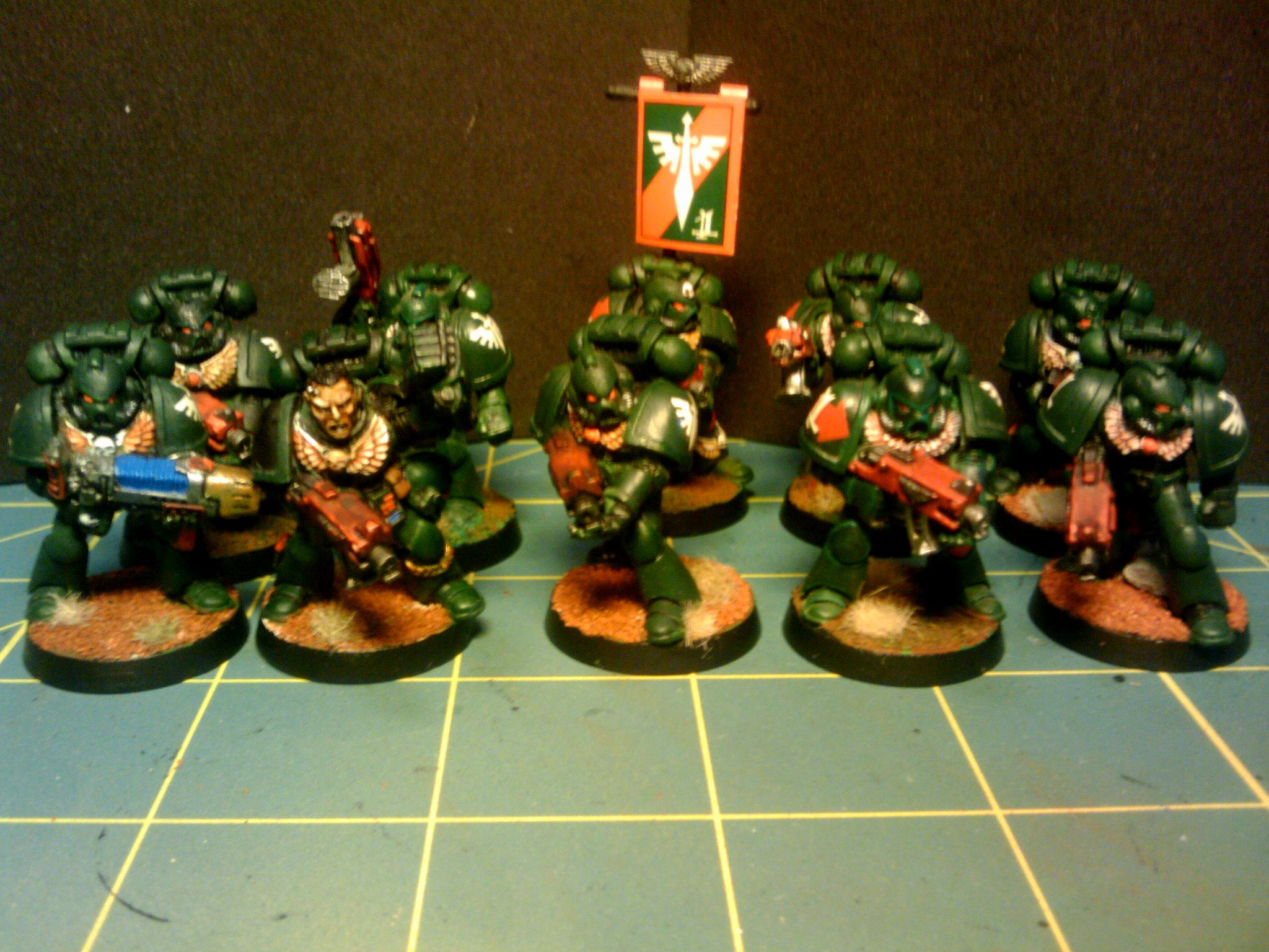 Dark Angels, My original guys from the 90's all metal