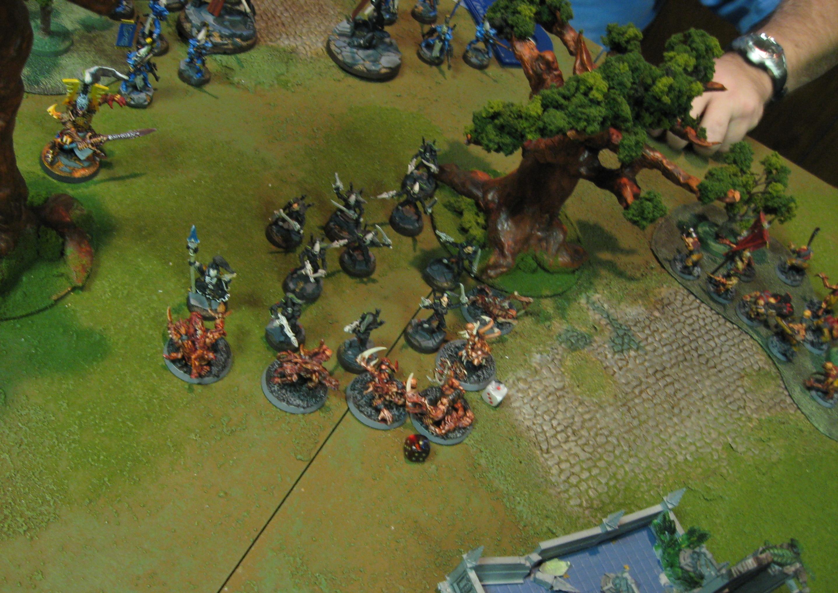 Battle Report, Chaos Daemons, Eldar