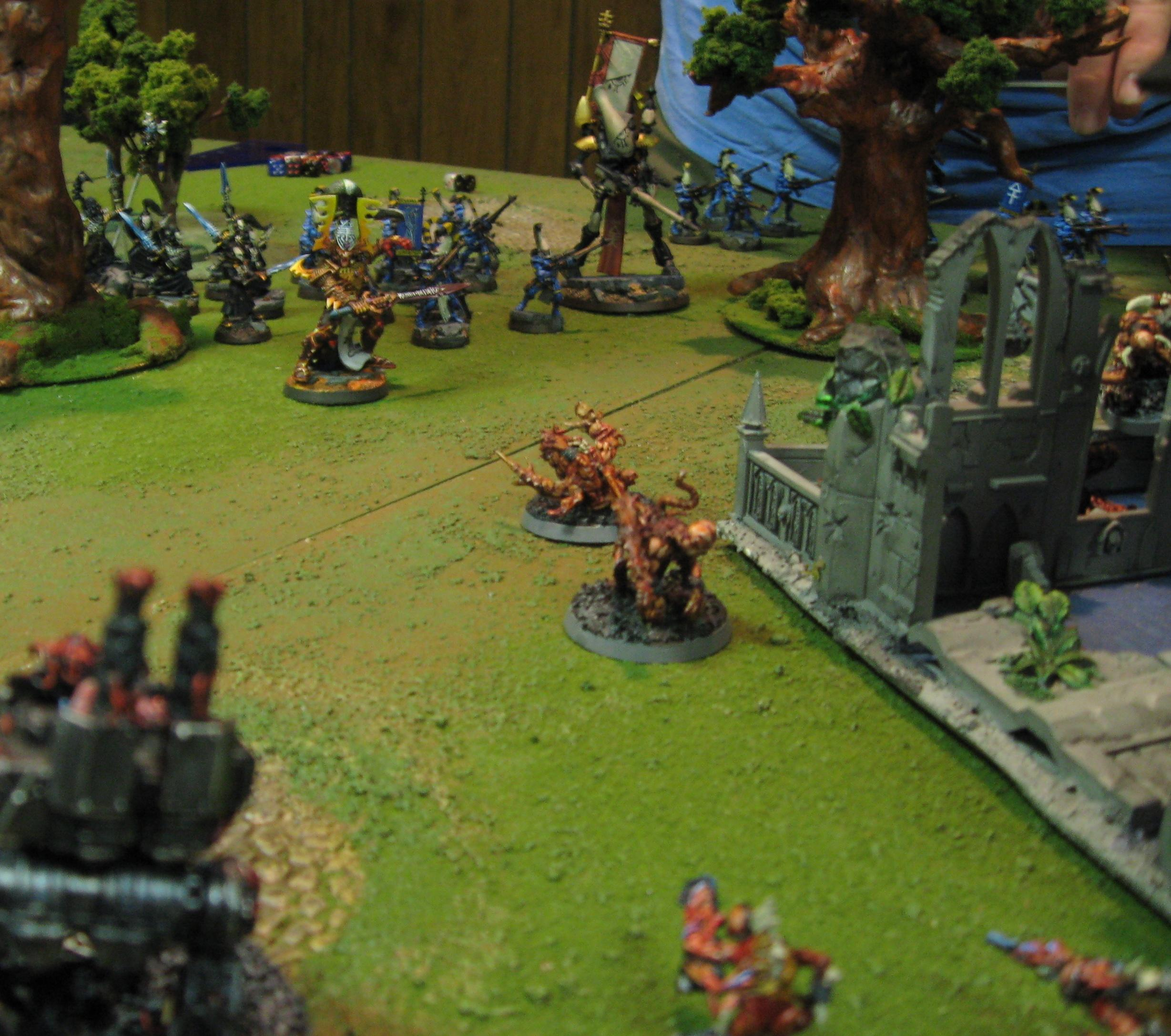 Battle Report, Chaos Daemons, Eldar