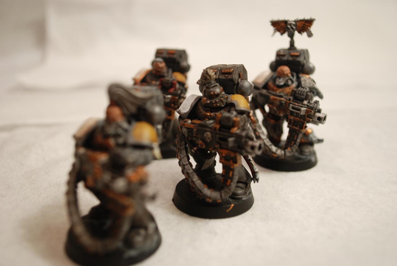 Arjac Rockfist, Grey Hunters, Logan Grimnar, Njal, Rune Priest, Space Wolves, Ulrik