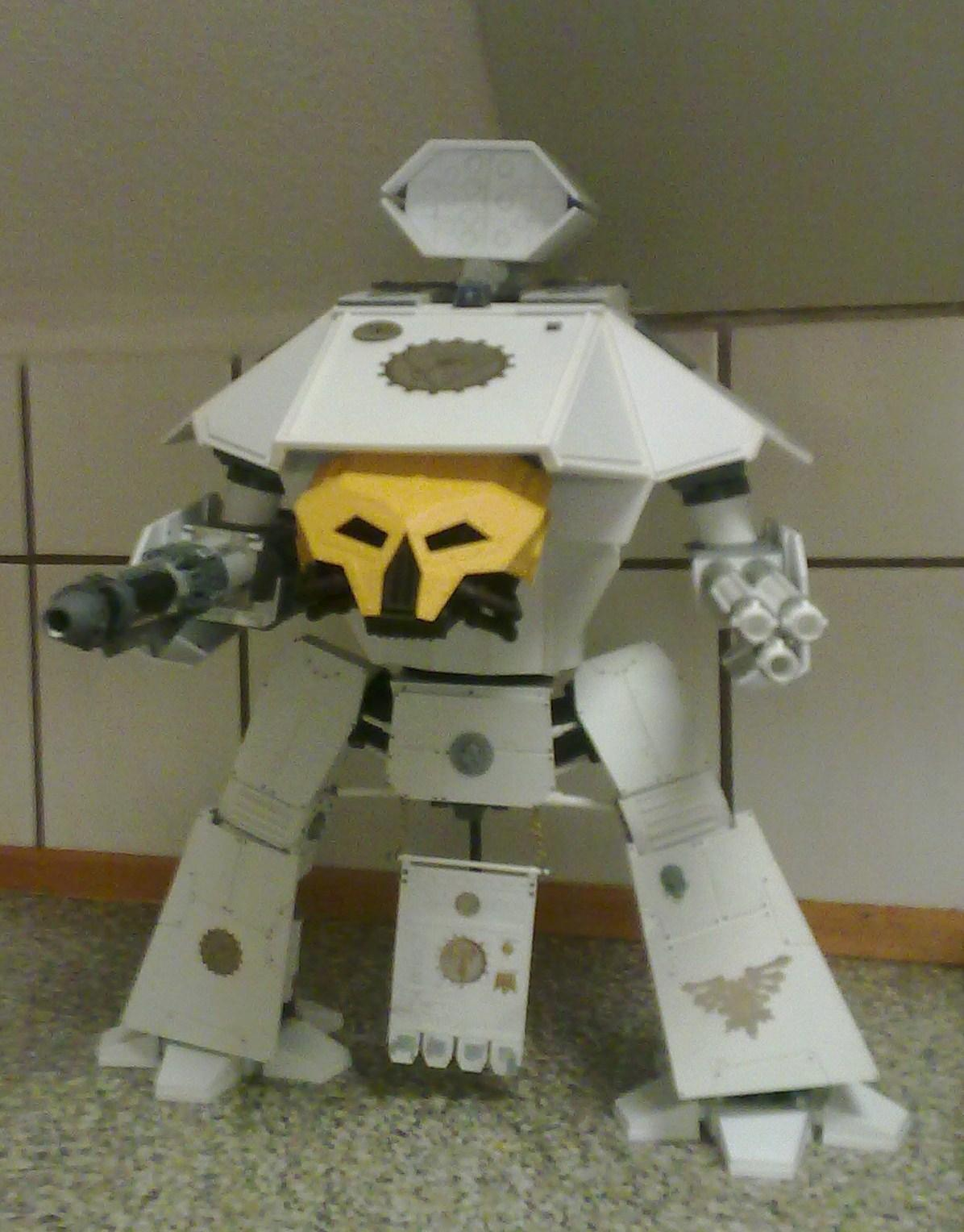Lucius Pattern, Reaver, Scratch Build, Titan