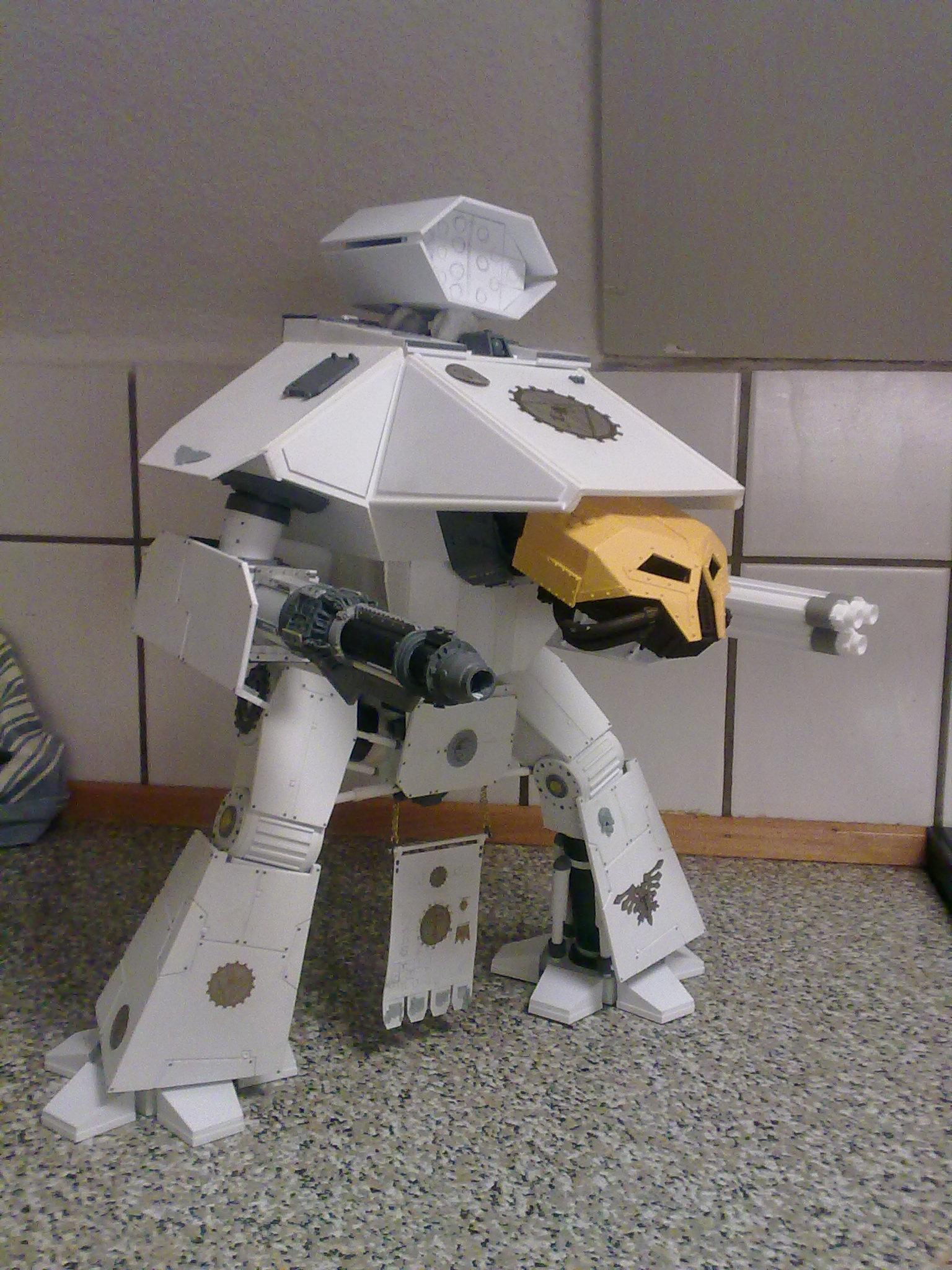 Lucius Pattern, Reaver, Scratch Build, Titan