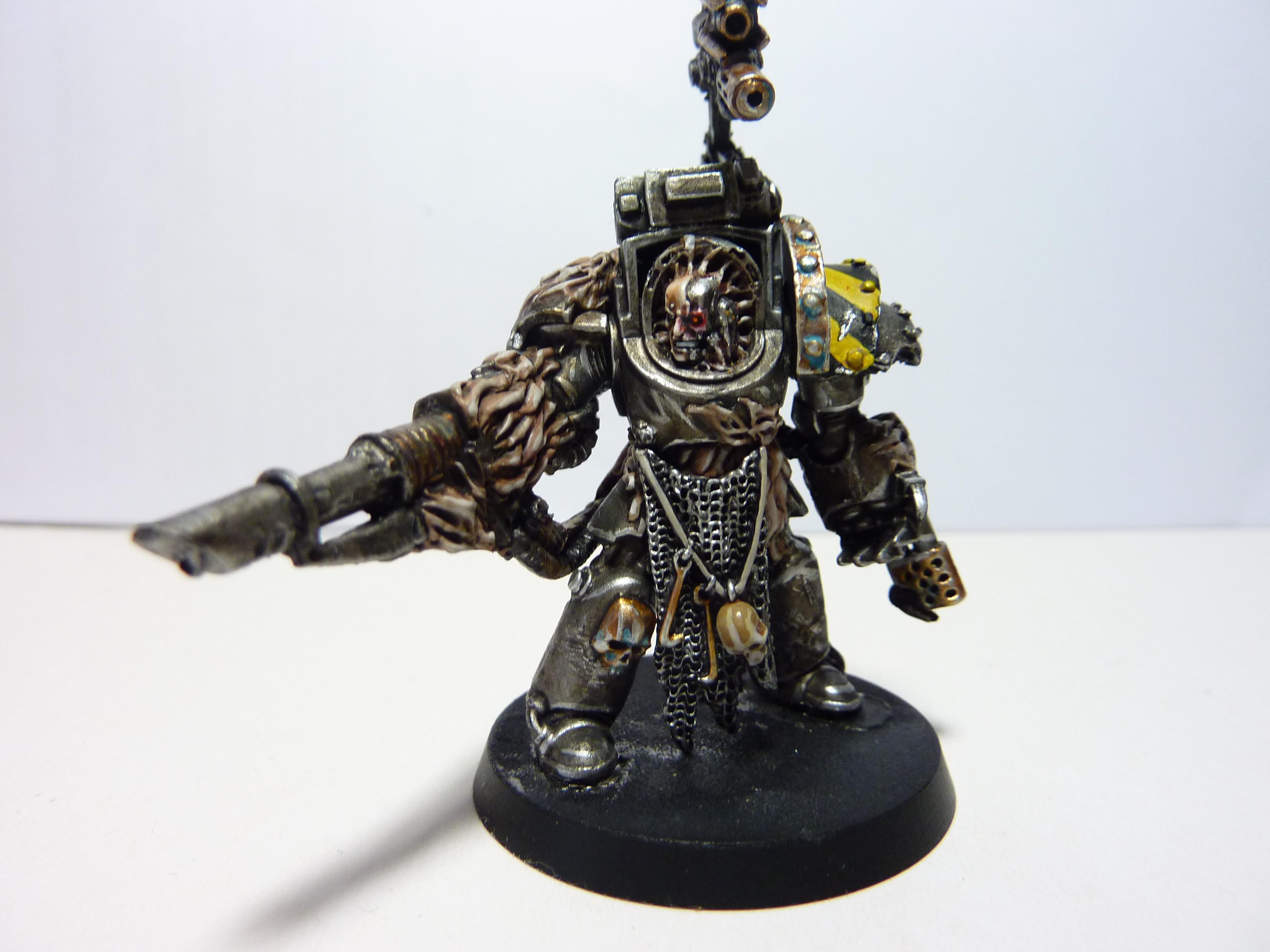 Chaos Space Marines, Conversion, Iron Warriors, Obliterators, Terminator Armor
