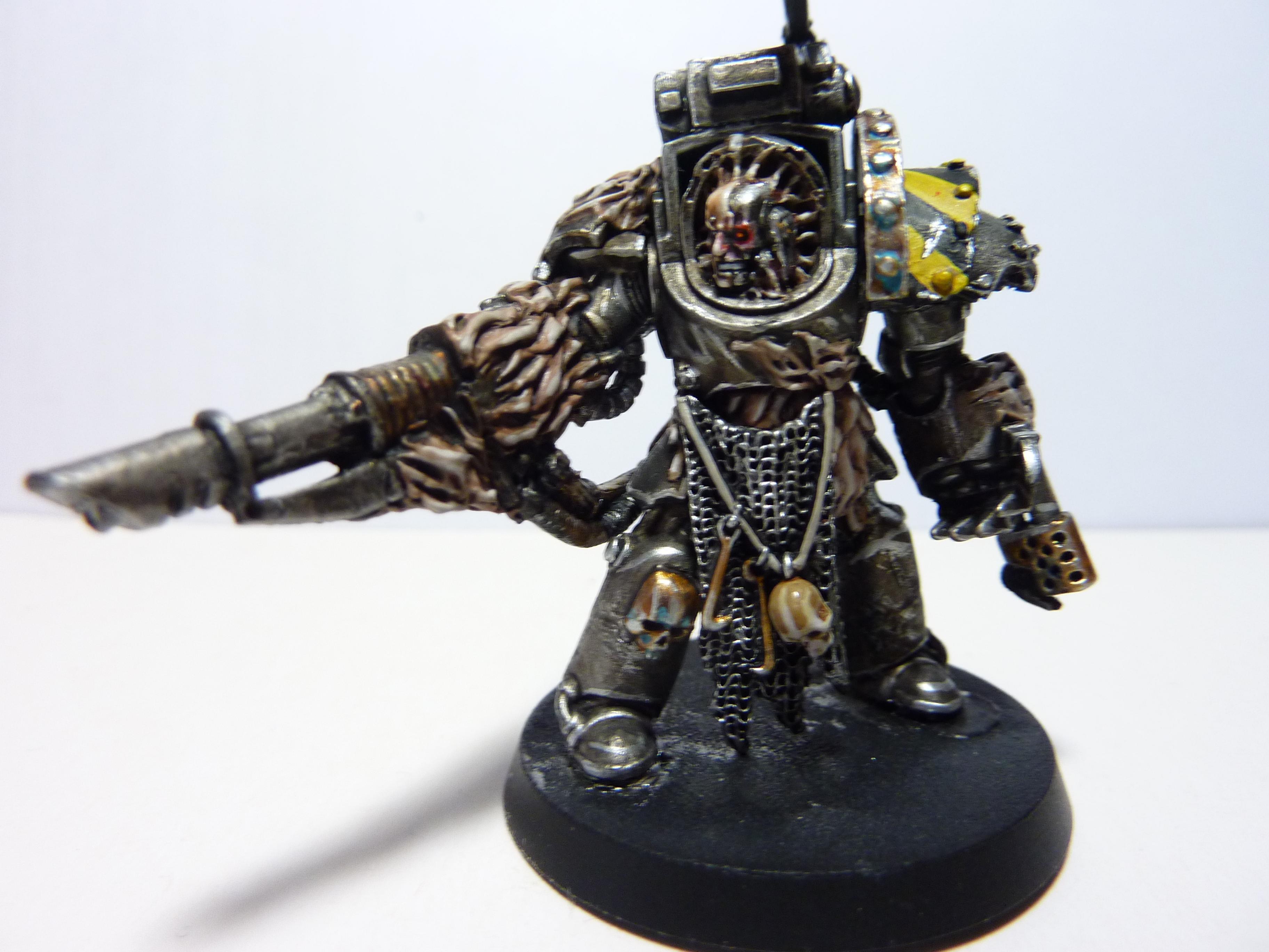 Chaos Space Marines, Conversion, Iron Warriors, Obliterators