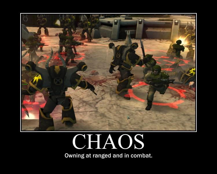 Chaos, Custom, De-motivational, Demotivational, Motivational, Pictures, Poster, Warhammer 40,000, Warhammer Fantasy