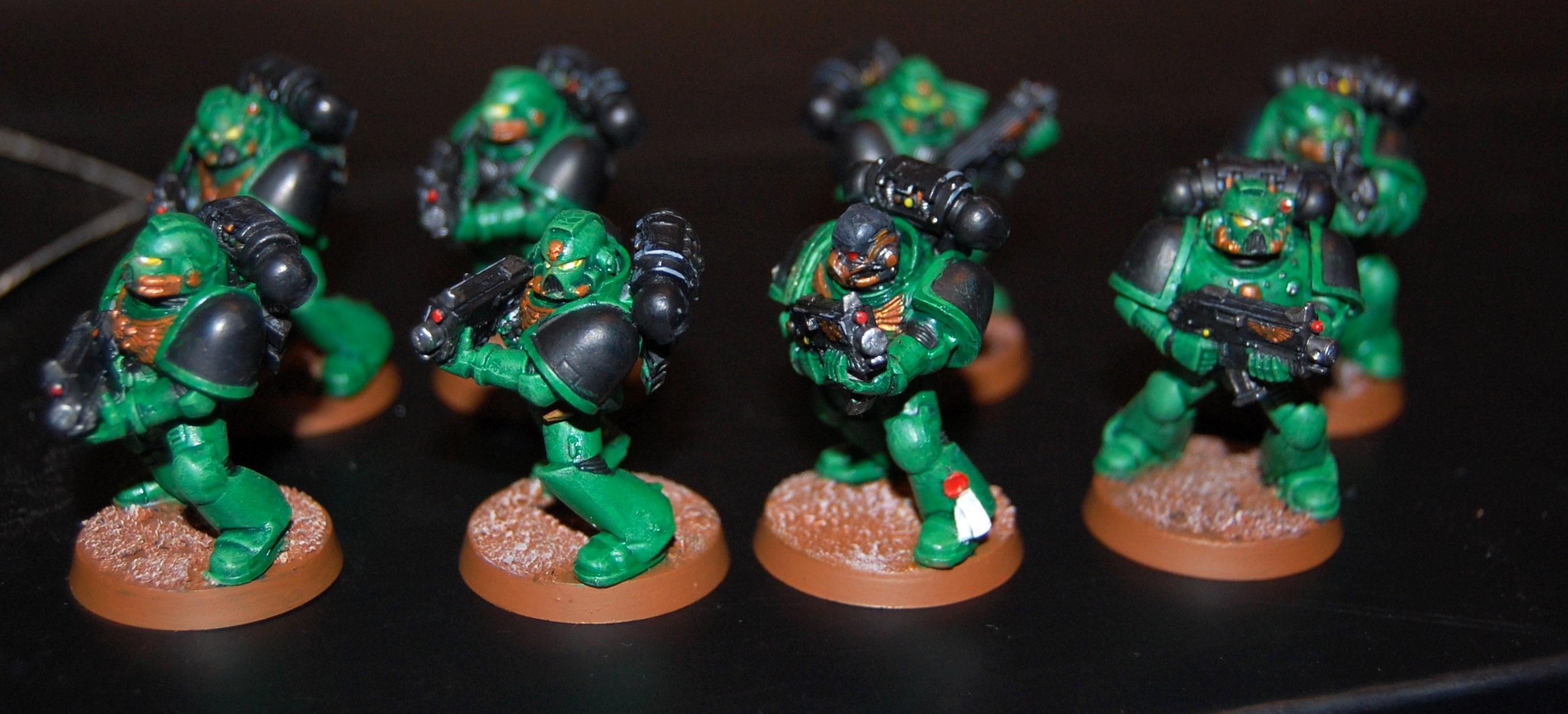 Salamander, Salamanders, Space Marines