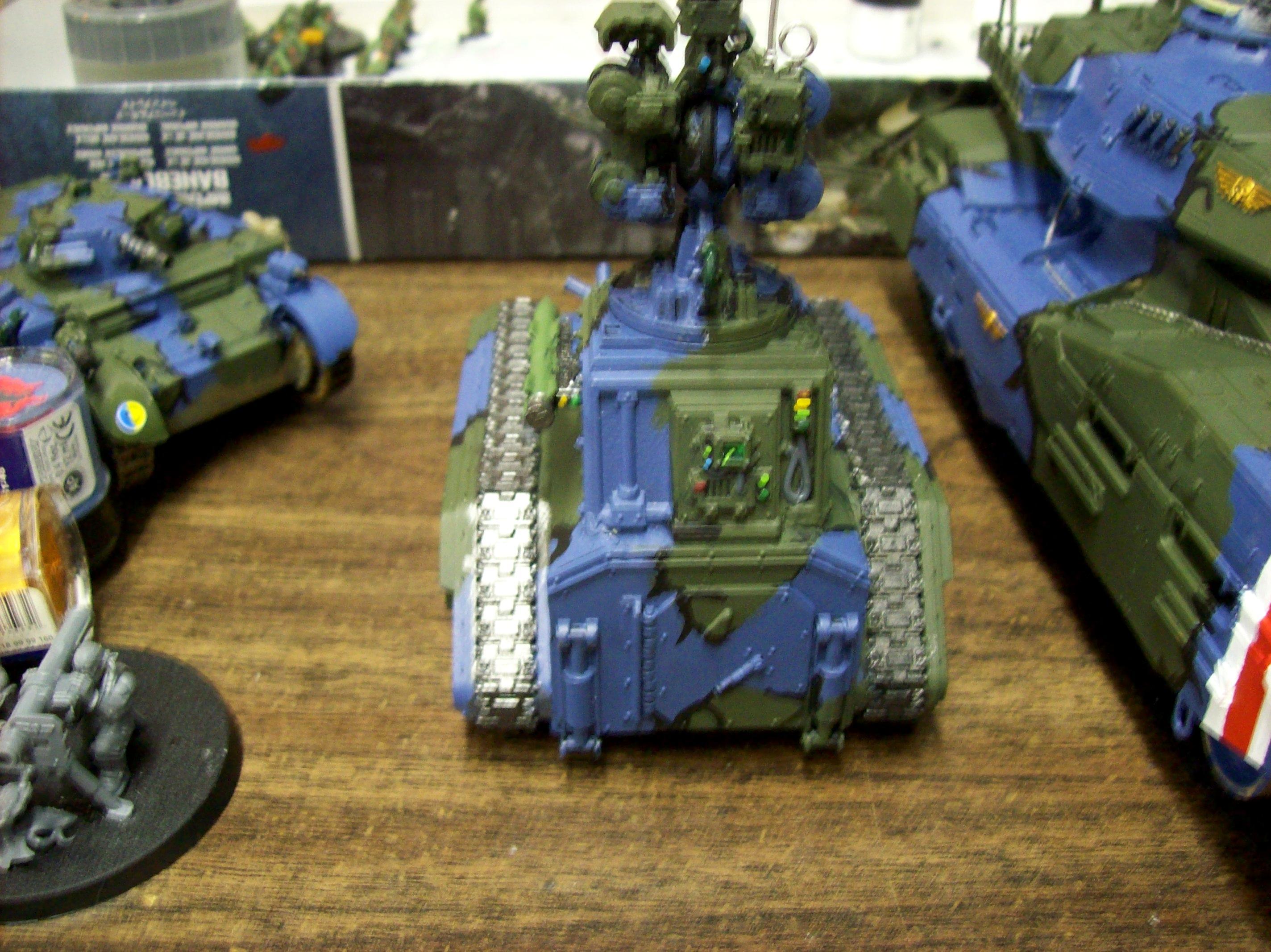 Apc, Camouflage, Chimera, Conversion, Hydra, Ifv, Imperial Guard, Rear View, Tank
