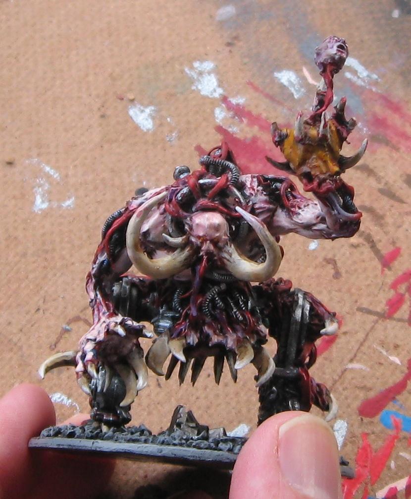 Chaos Daemons, Conversion, Daemons, Juggernaut, Skulltaker