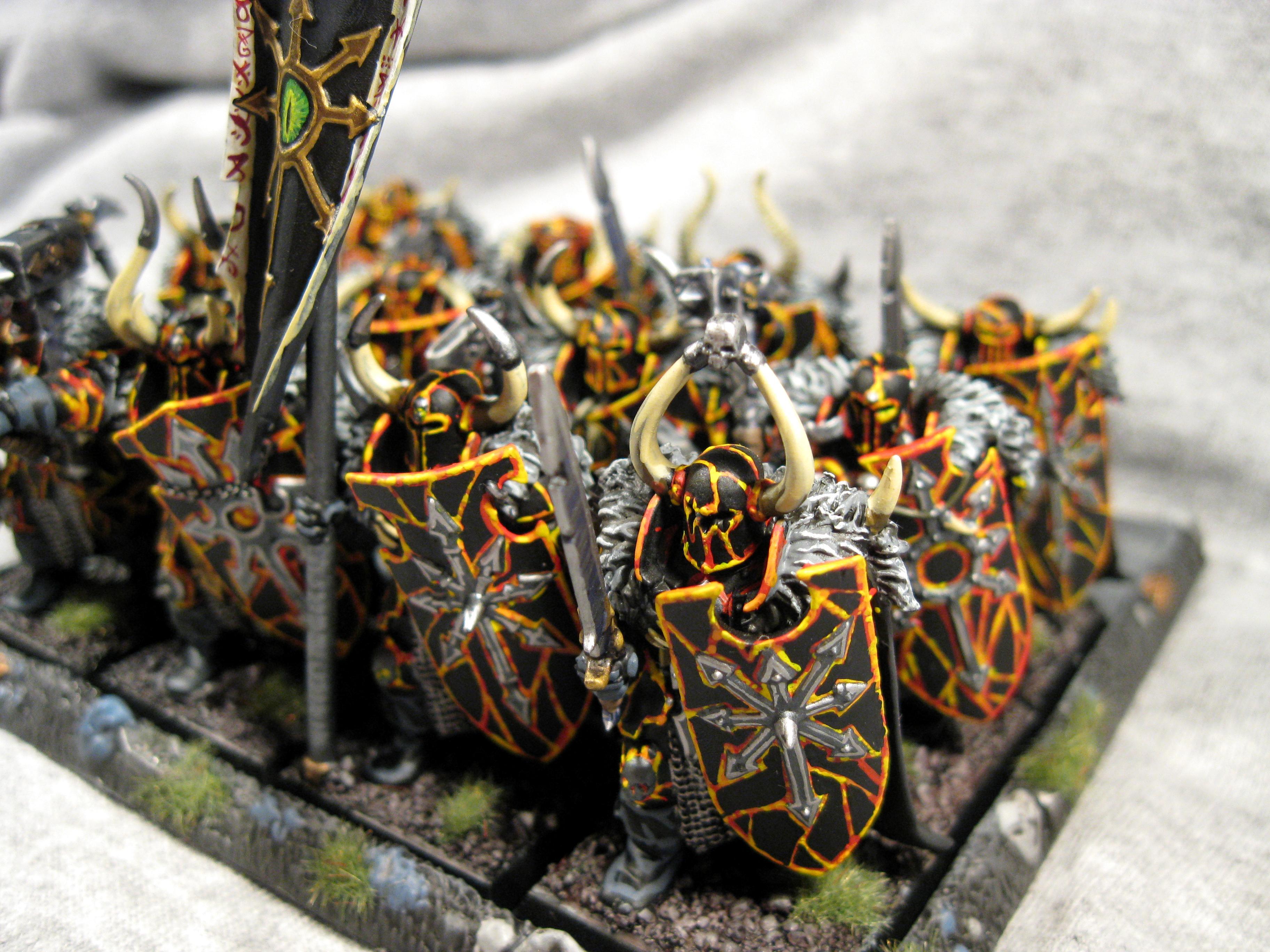Chaos, Chaos Wariors, Pro Painted, Rpg, Warhammer Fantasy, Warriors Of Chaos