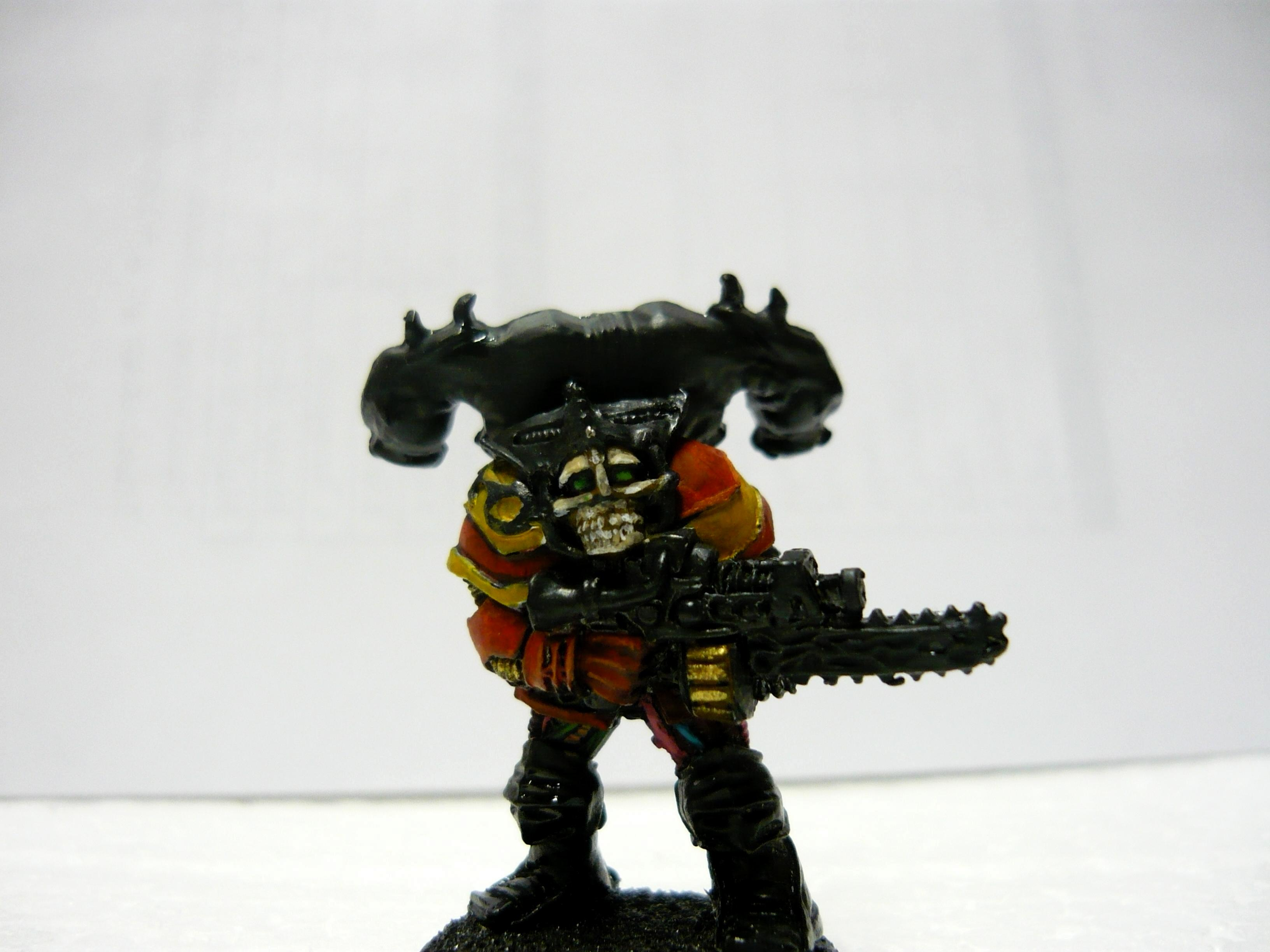 Chaos Space Marines, Khorne, Out Of Production, Rogue Trader