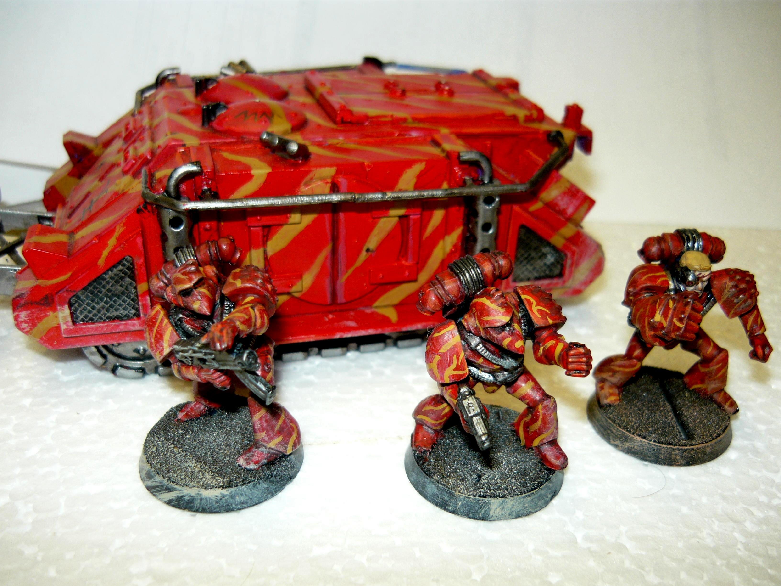 Out Of Production, Rhino, Rogue Trader, Space Marines