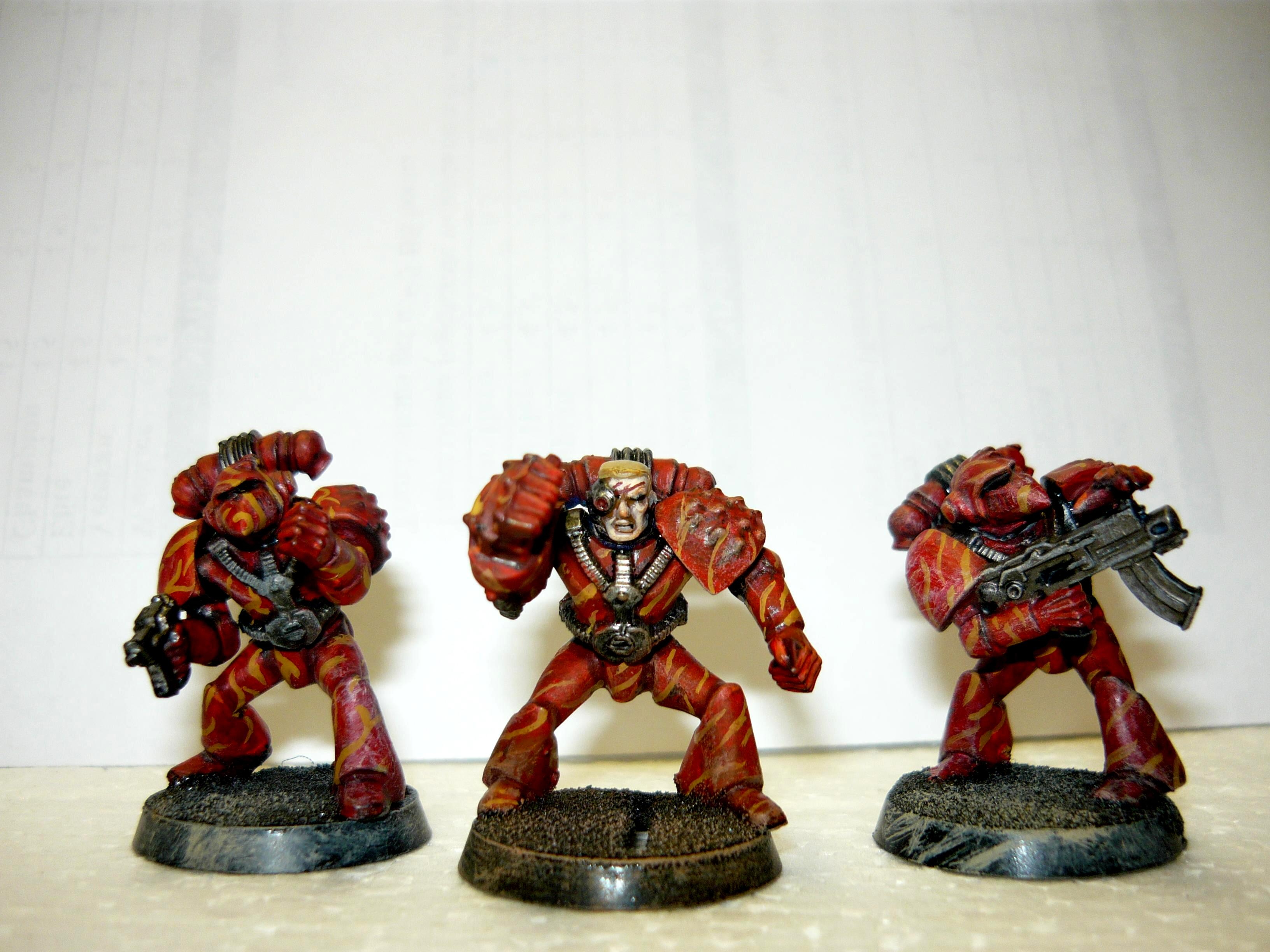 Out Of Production, Rogue Trader, Space Marines