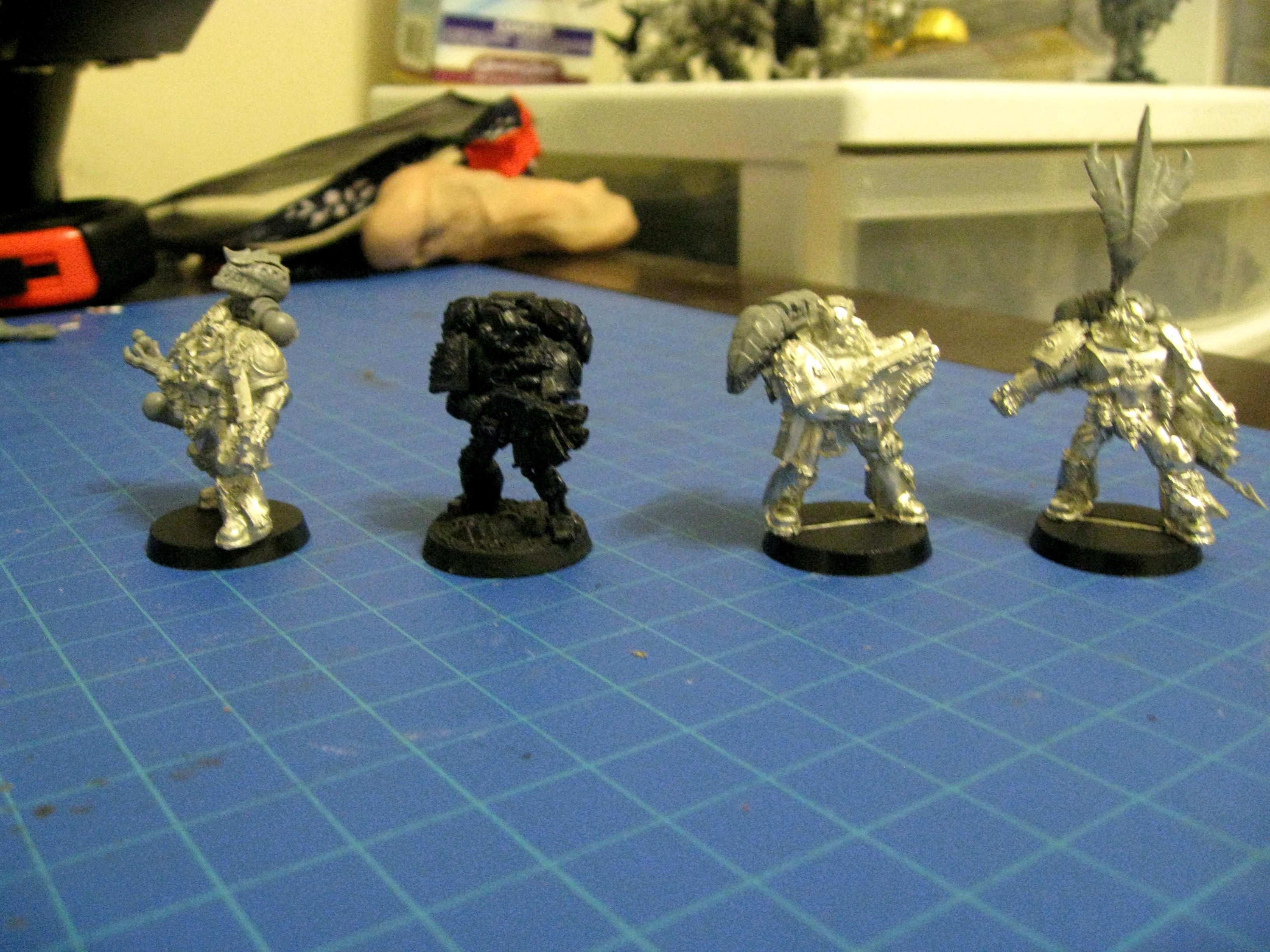 Conversion, Kitbash, Space Marines, Sternguard, Tyranids, Tyrannic War Veteran, Ultramarines
