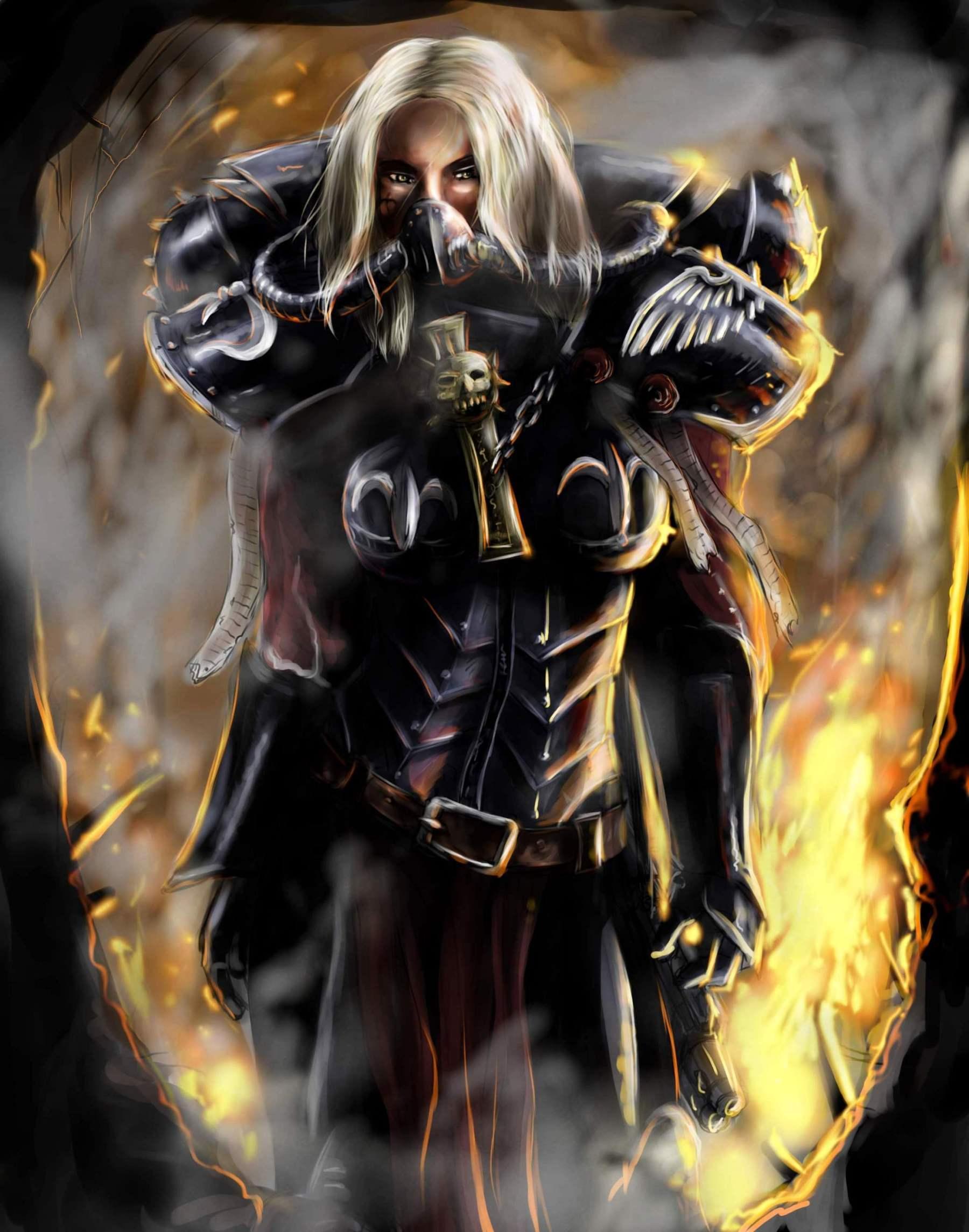 Artwork, Badass, Sisters Of Battle, Warhammer 40,000