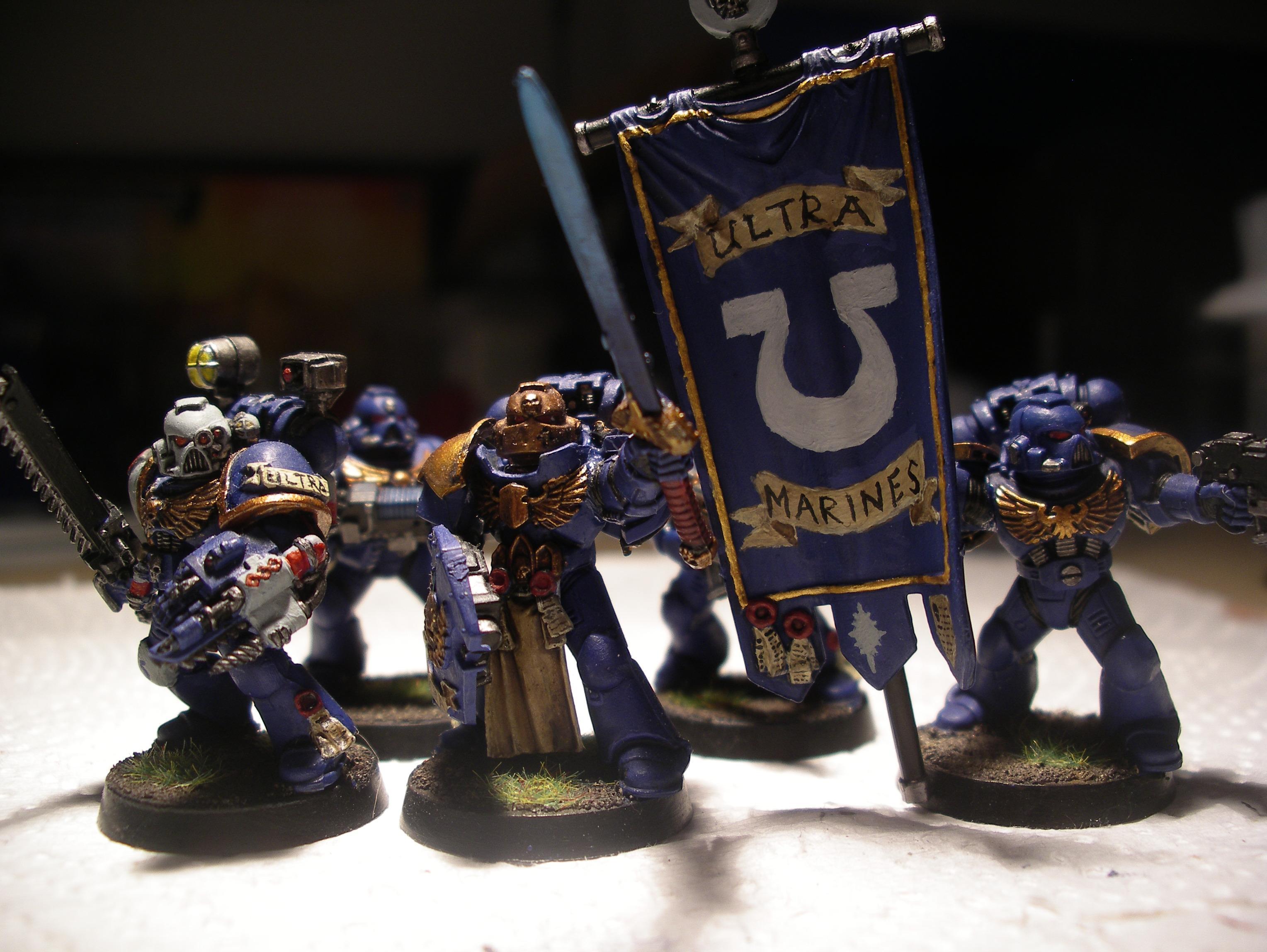 Captain 2's command squad