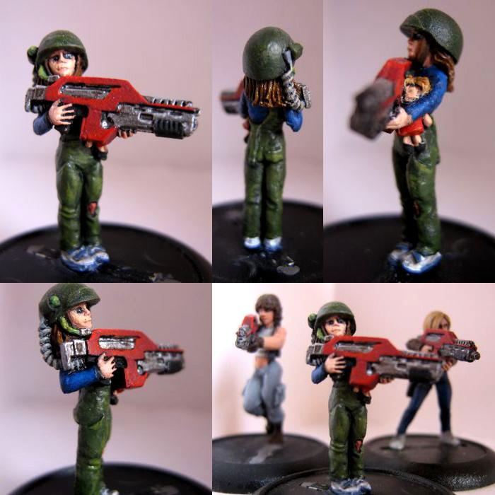 Alien Child Doll Female Gun Hasslefree Rifle