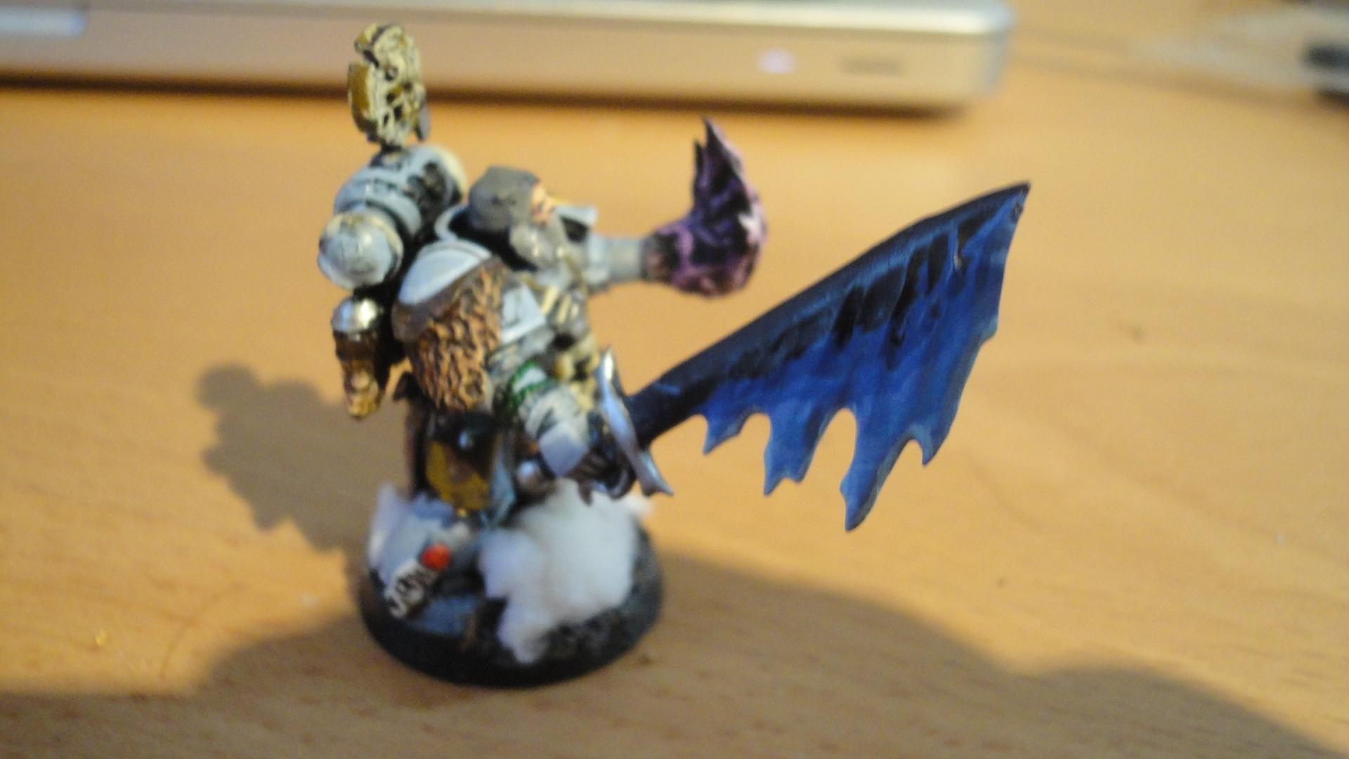 Living Lightning, Rune Priest, Space Wolves