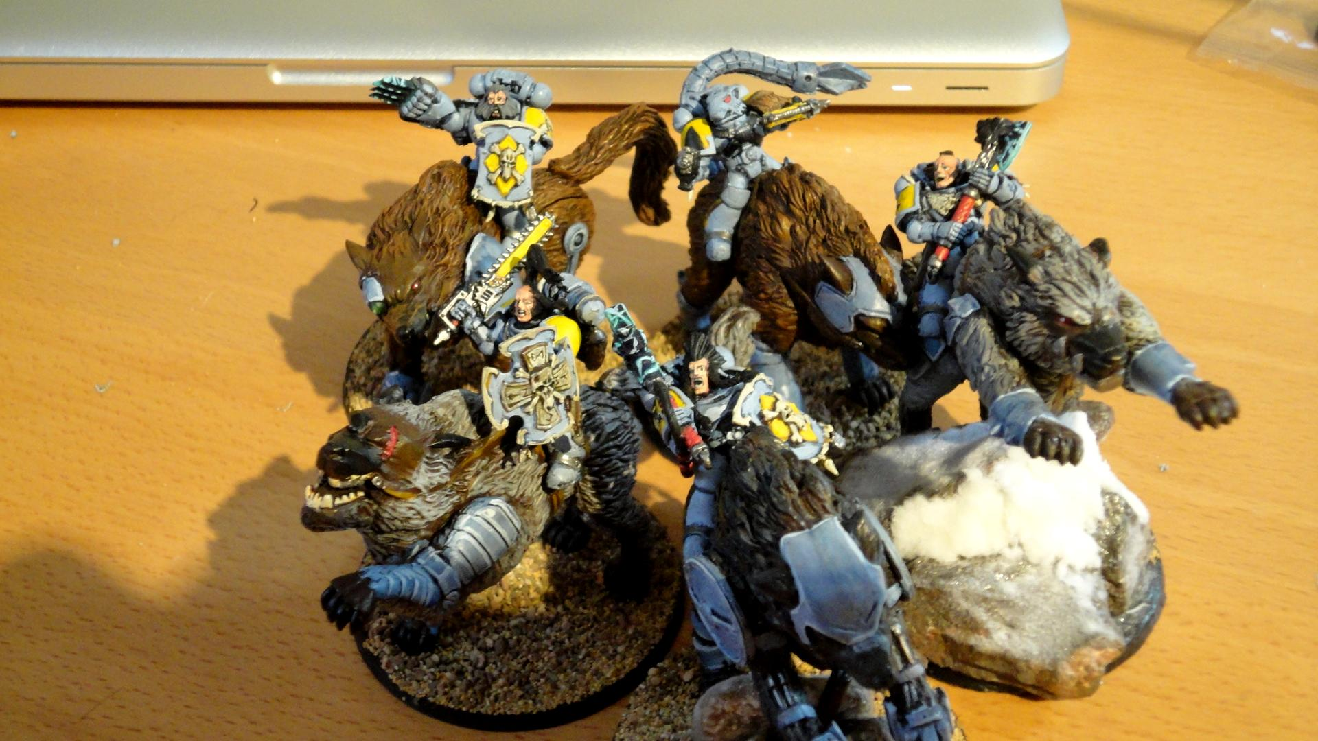 Space Marines, Space Wolves, Thunder Wolves