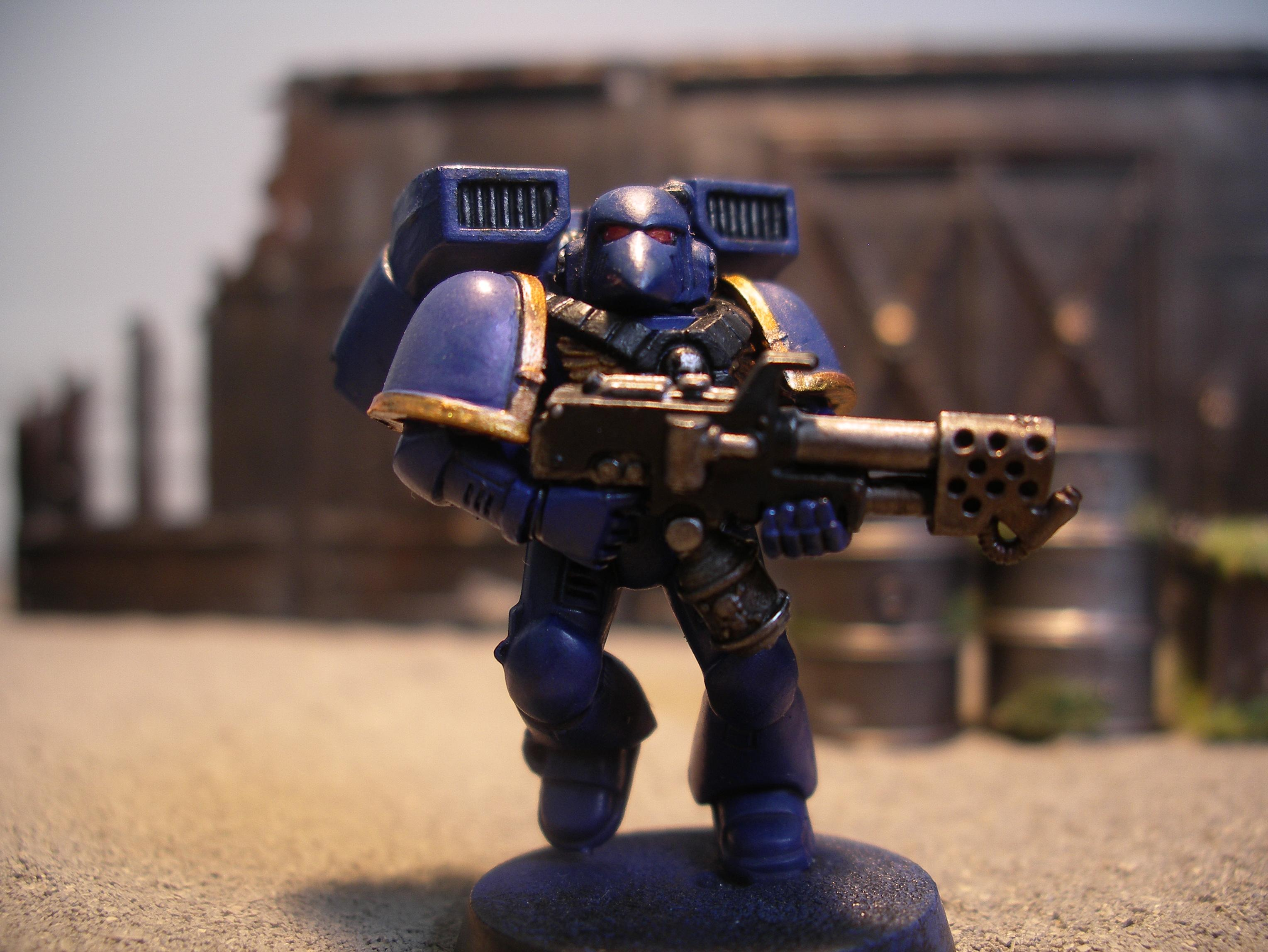 Assault Marine Special Weapon, Assault Marines, Flamer, Space Marines