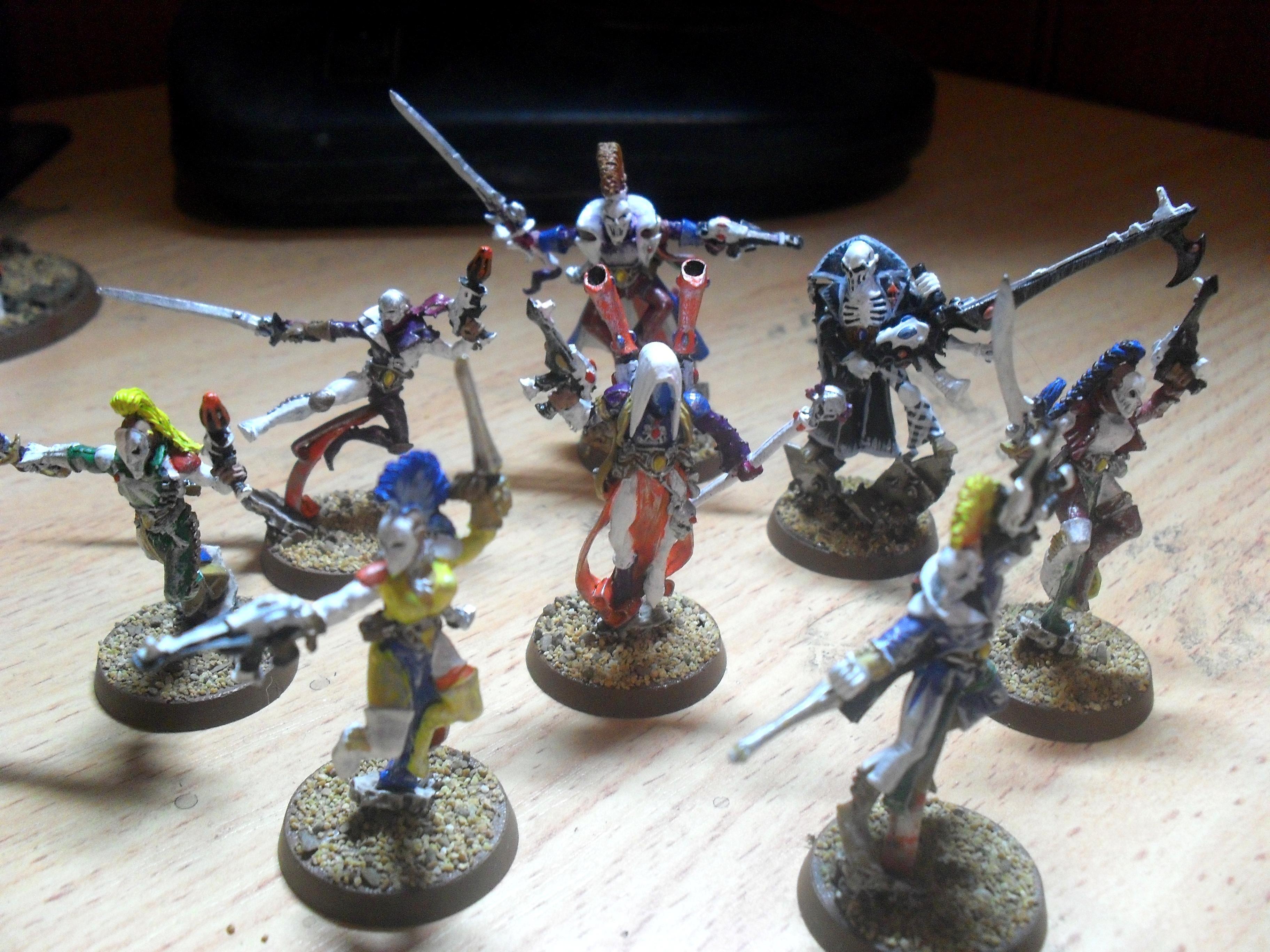 Craftworld, Death Jester, Eldar, Harlequins, Shadowseer, Troupe Master, Warhammer 40,000, Ynnead