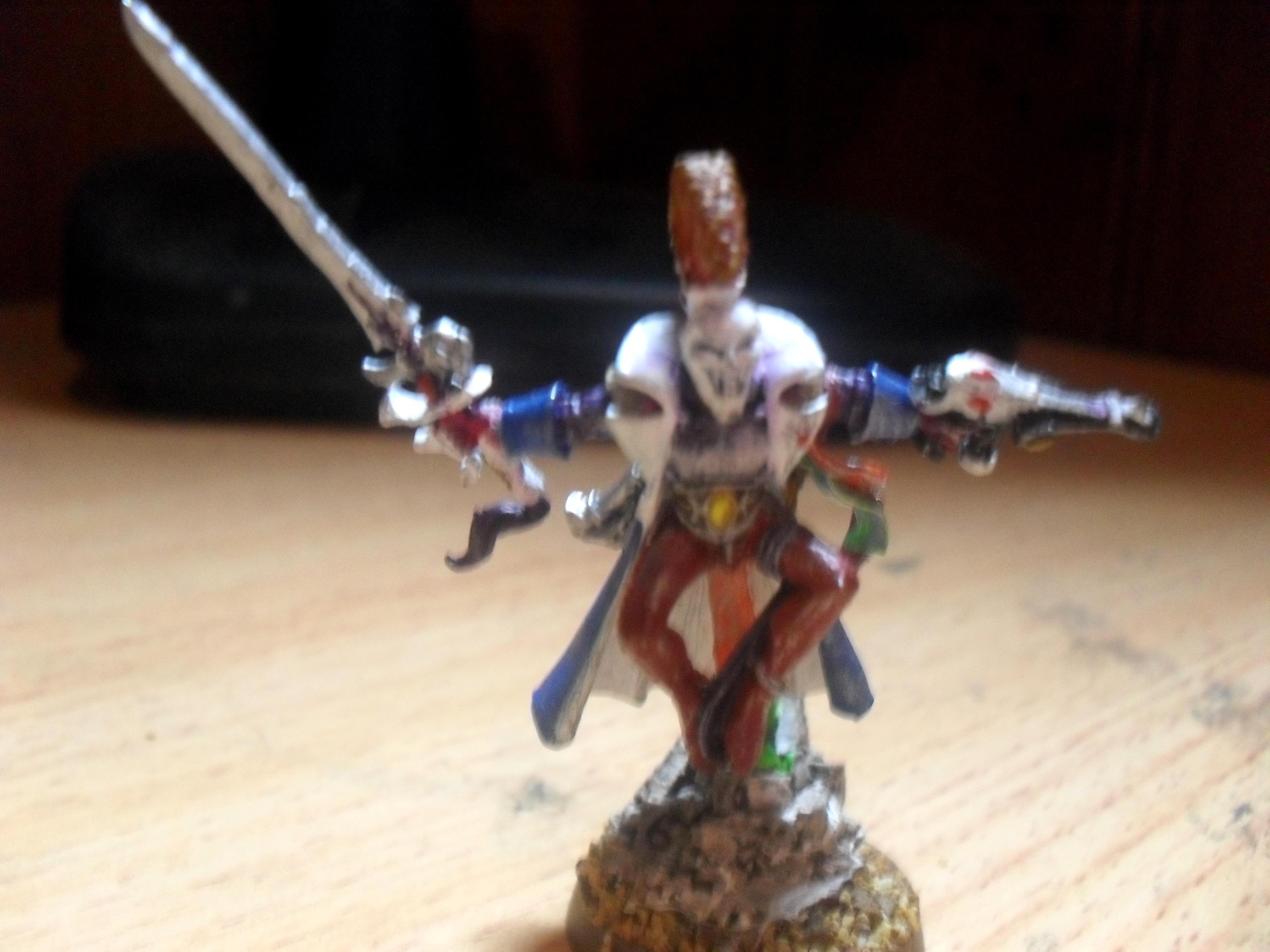 Craftworld, Eldar, Harlequins, Jester, Troupe Master, Warhammer 40,000