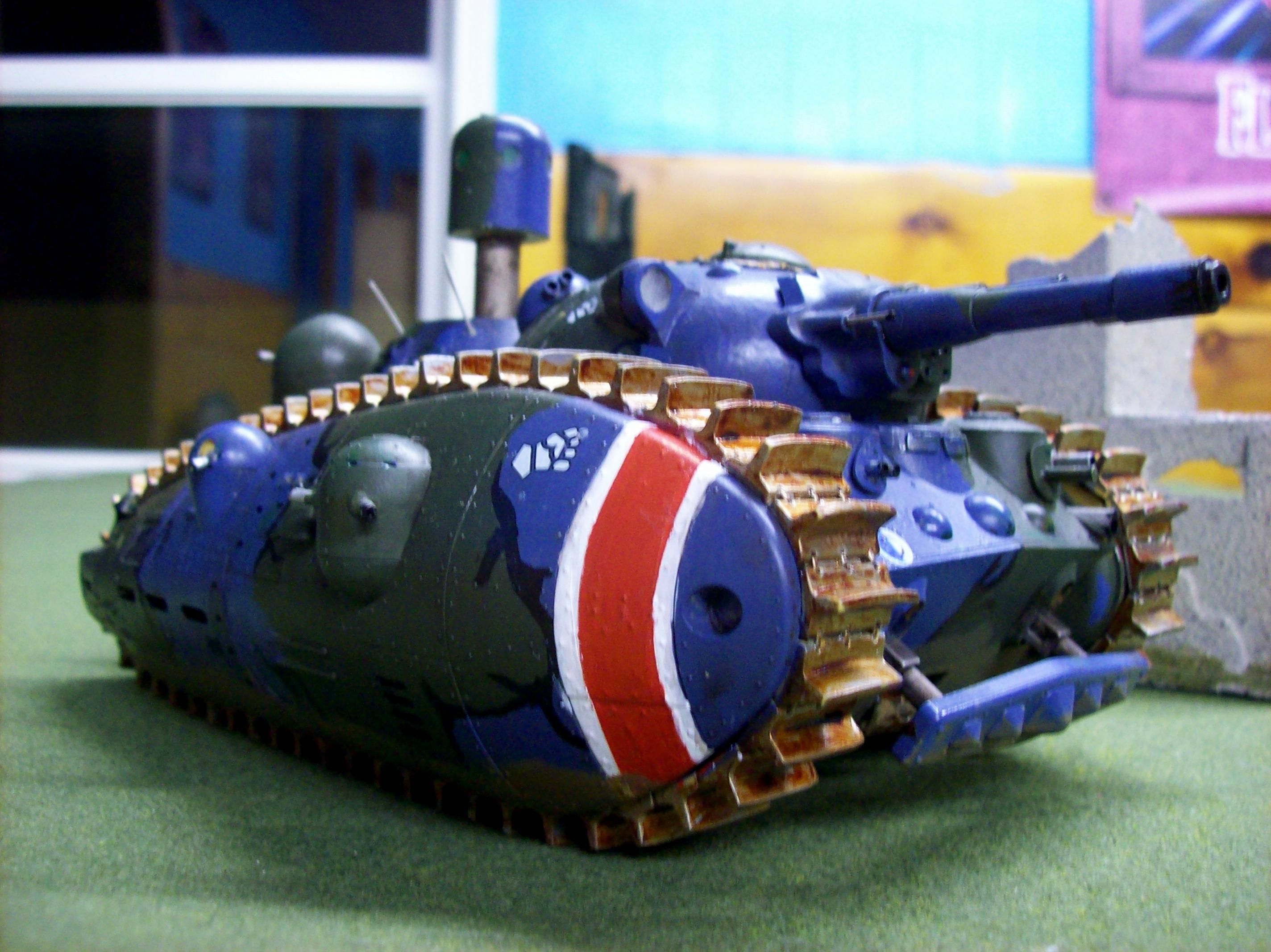 Anime, Bad Guy No 1, Camouflage, Conversion, Imperial Guard, Super-heavy, Tank