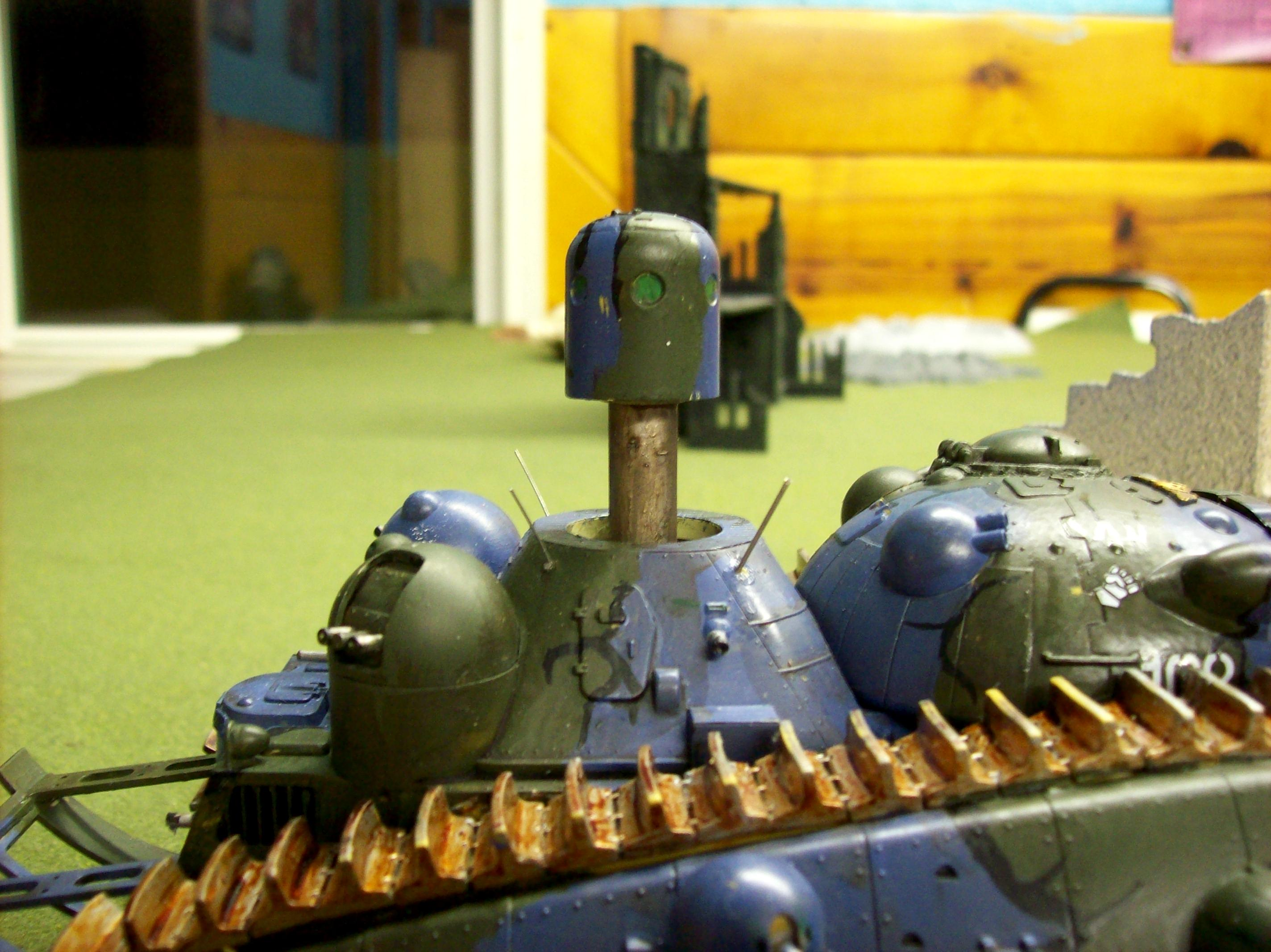Anime, Camouflage, Conversion, Imperial Guard, Super-heavy, Tank