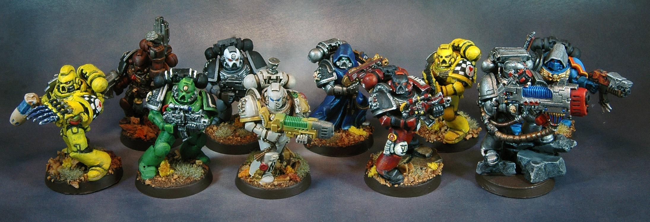 Deathwatch, Great Marine Swap, Space Marines, Warhammer 40,000