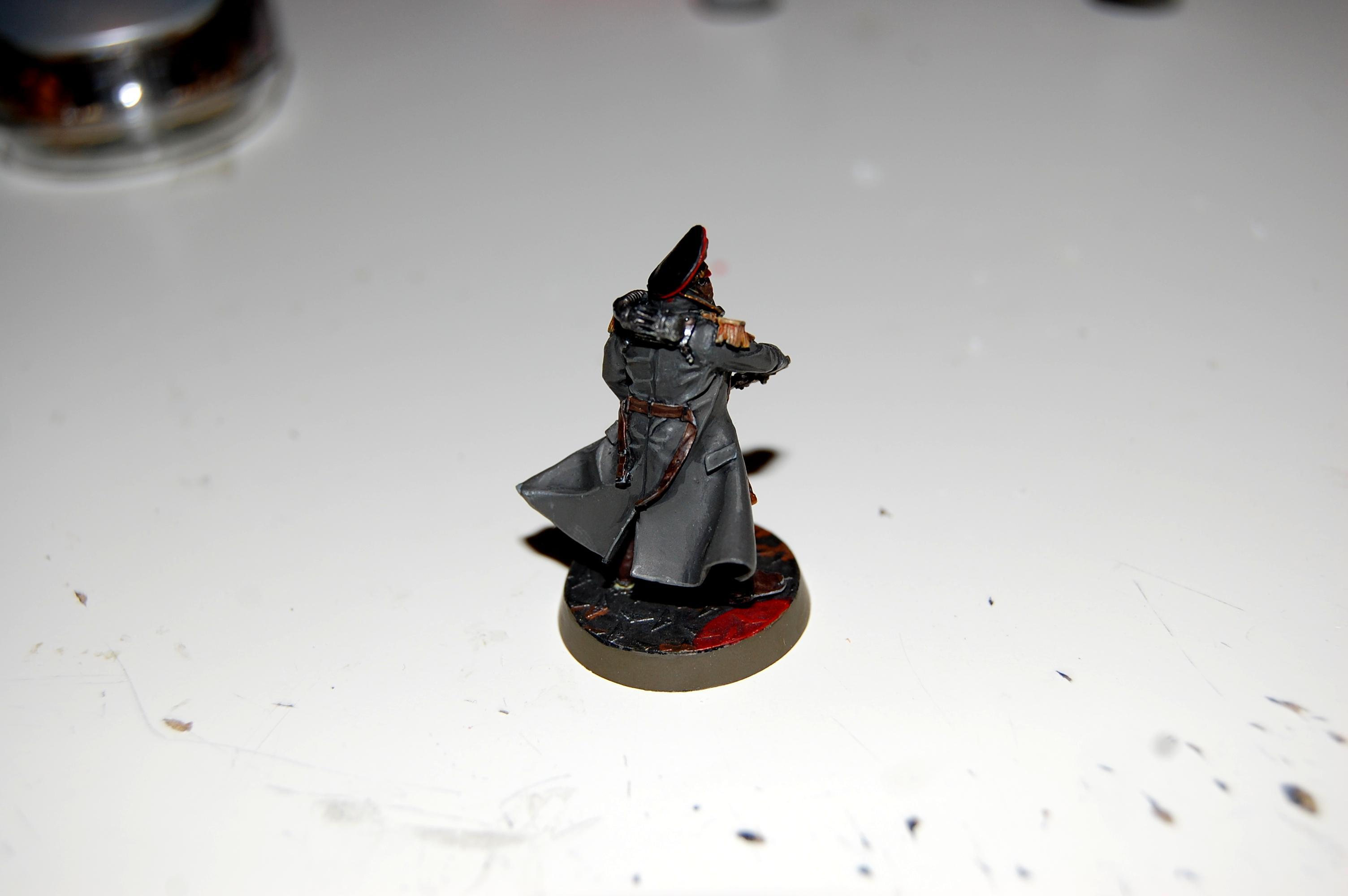 Commissar, Death Korps of Krieg, Warhammer 40,000