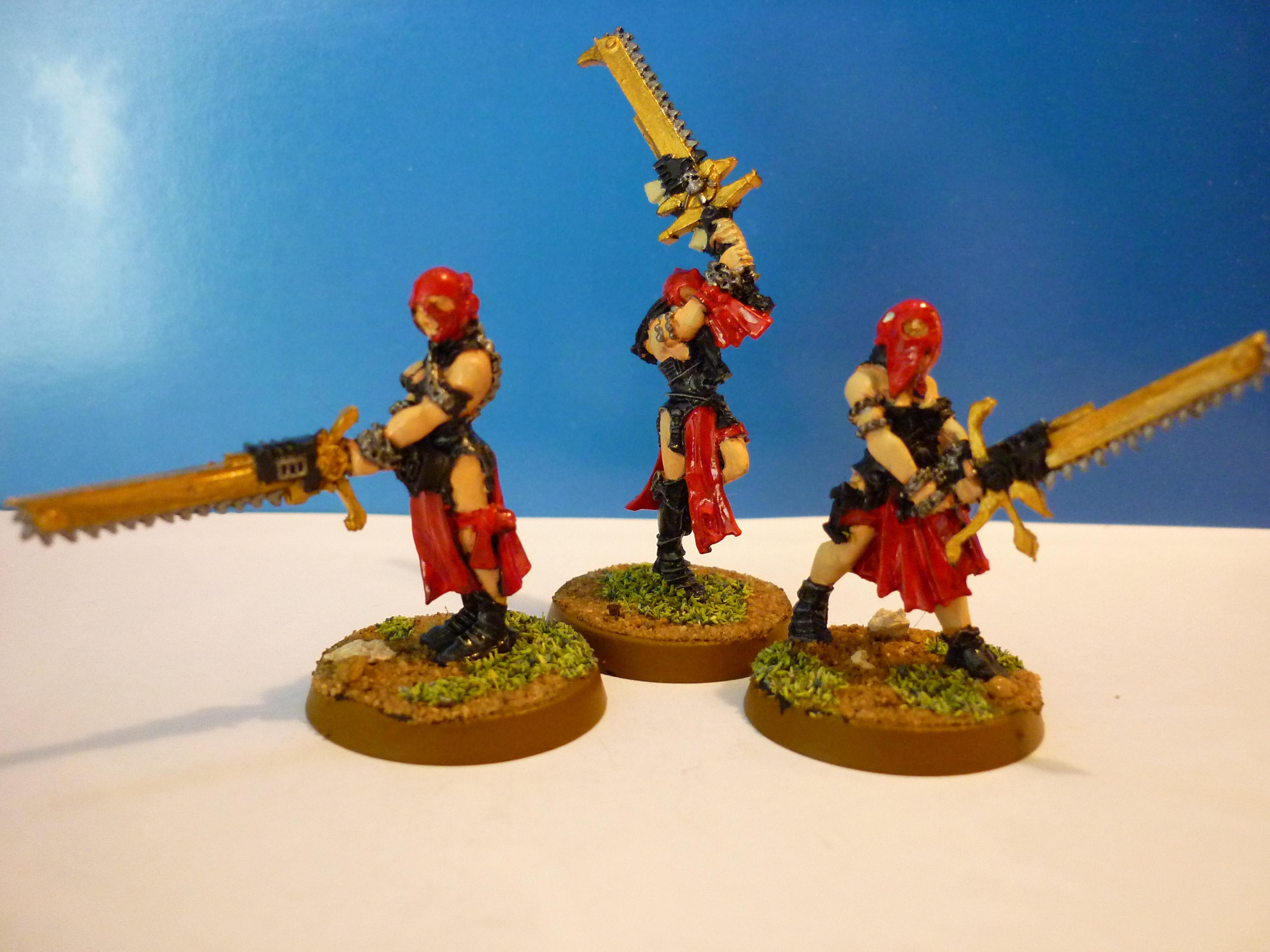 Sisters Of Battle, Sisters Repentia, Witchhunters