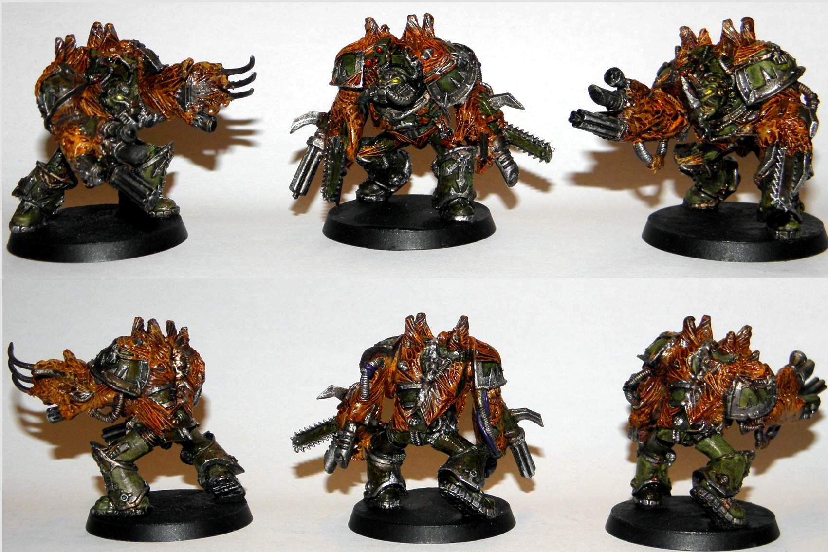 Chaos, Chaos Space Marines, Heavy Support, Nurgle, Obliterators, Plague, Warhammer 40,000