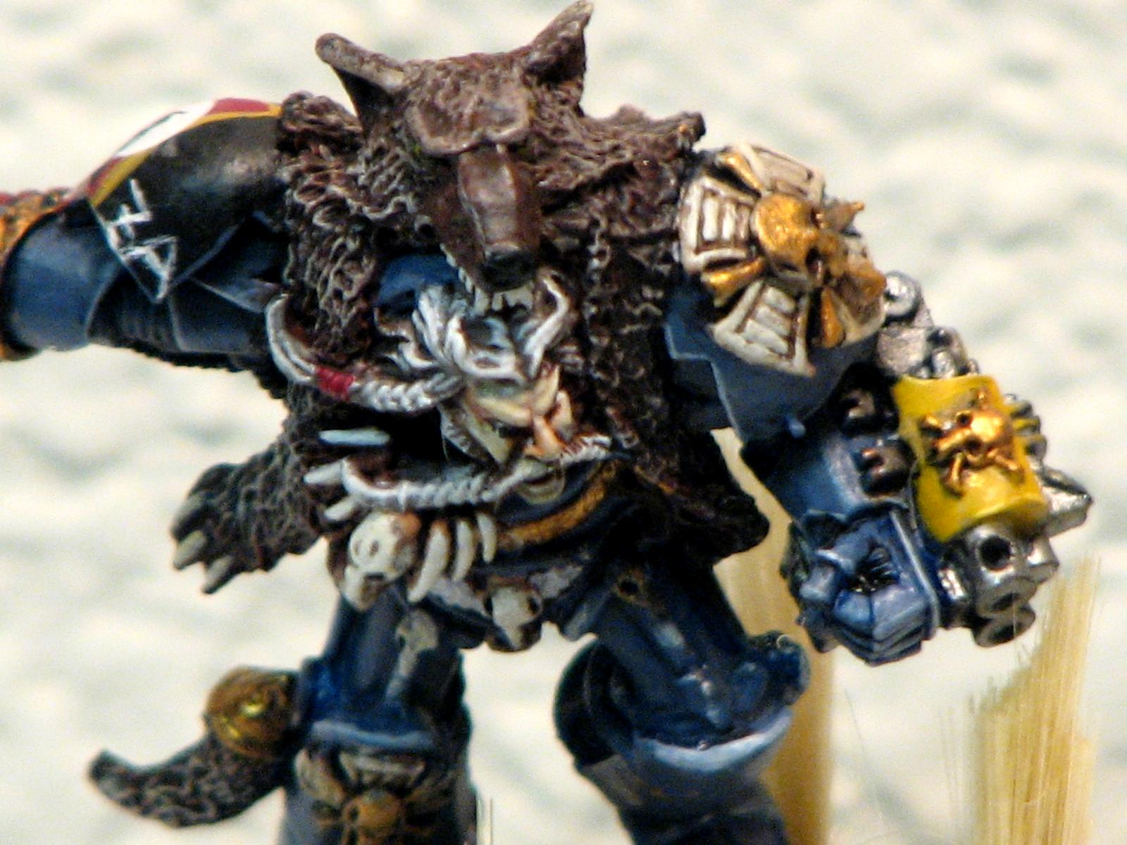 Grimnar, Logan, Space Marines, Space Wolves