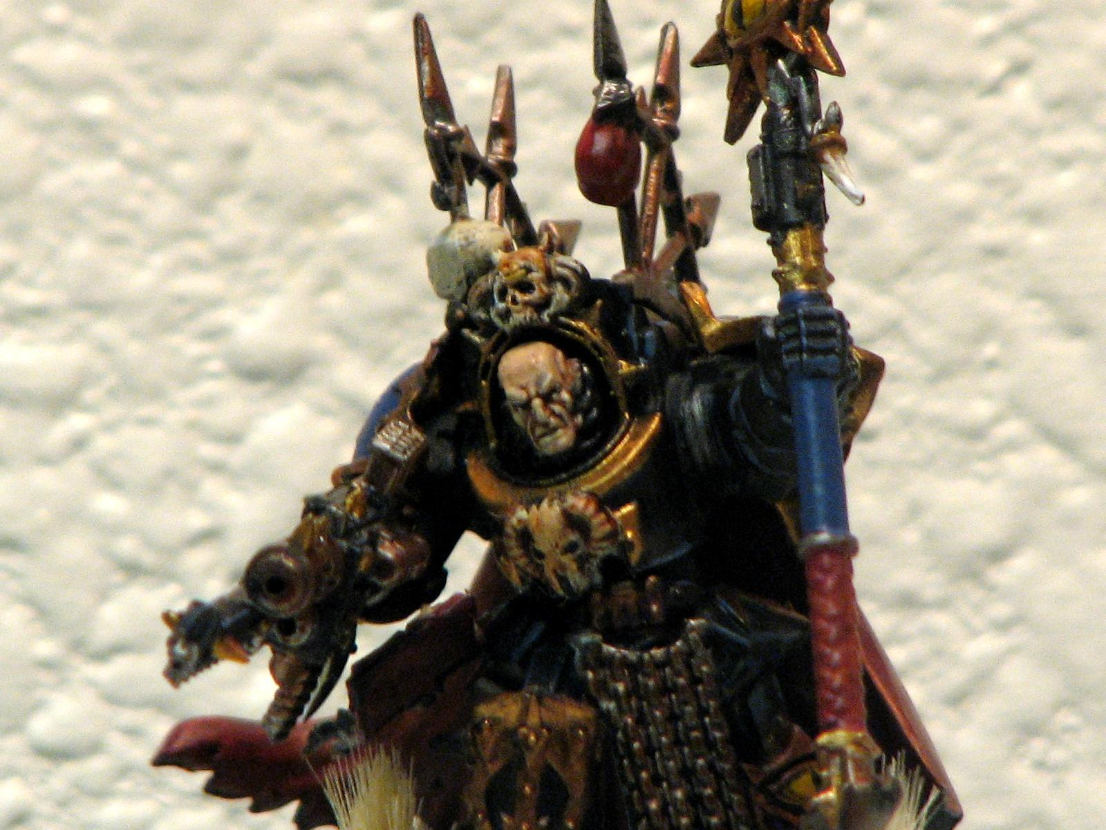 Chaos, Lord, Sorcerer, Terminator Armor