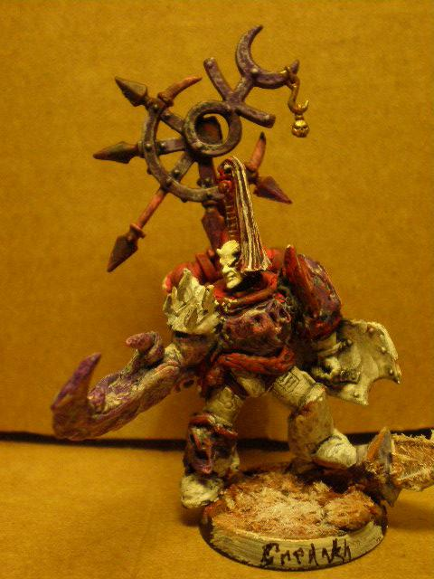 Champion Of Slaanesh, Chaos Space Marines, Conversion, Novum Remedum, Slaanesh
