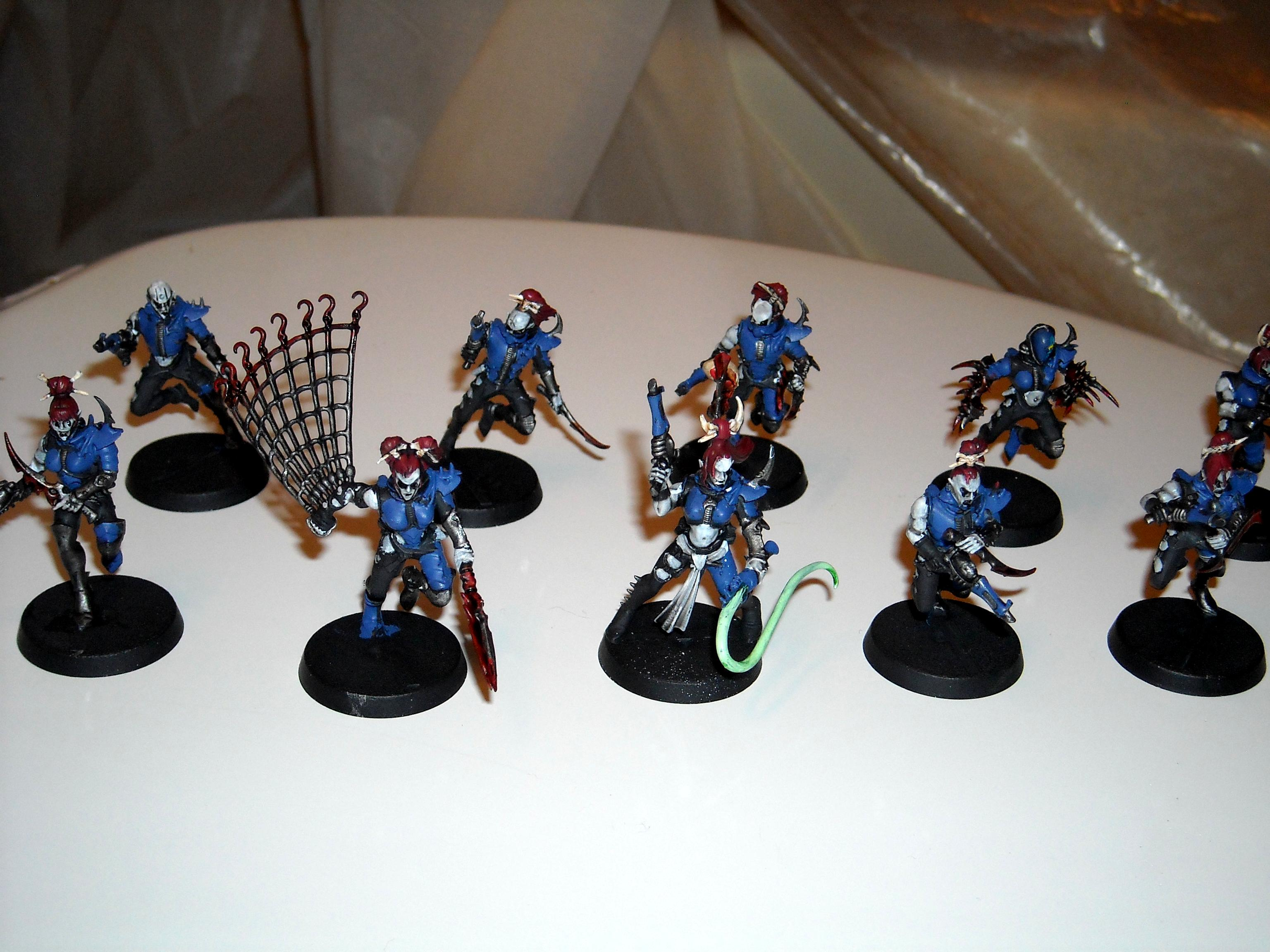 Archon, Hellions, Raider, Warriors, Wych, Wyches