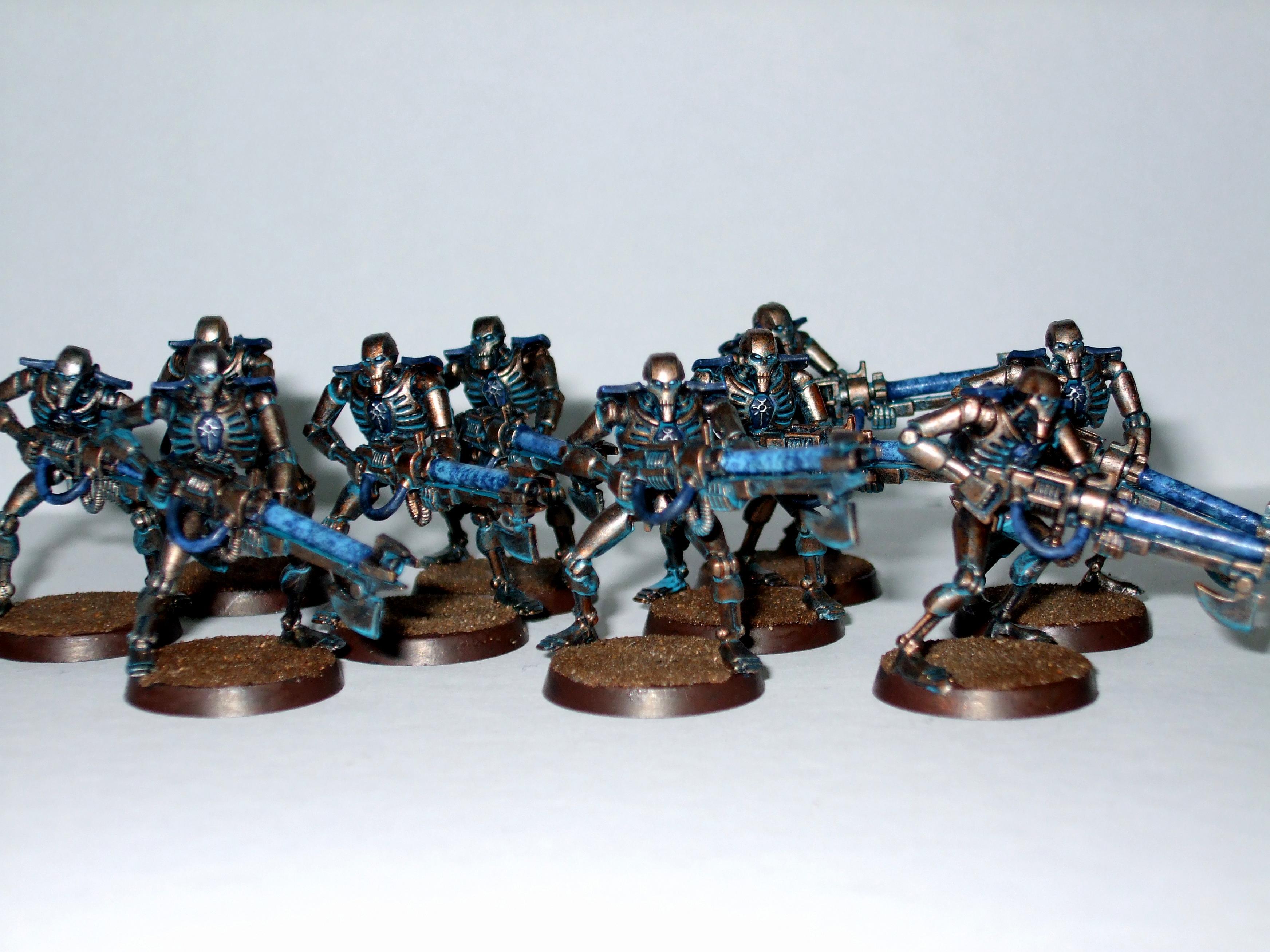 Necrons, Rust, Verdigris, Warriors