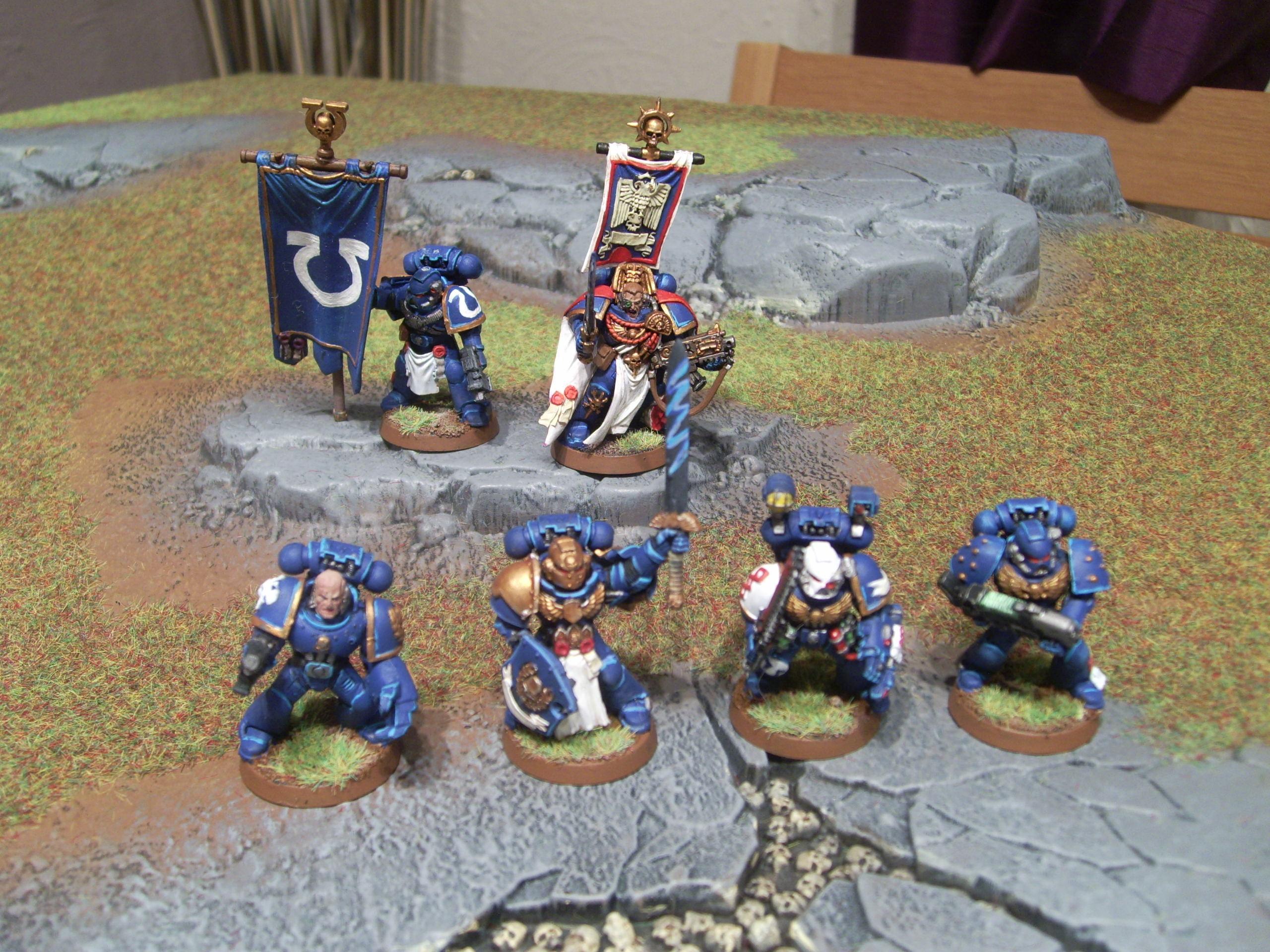 Assault On Black Reach, Captain, Command Squad, Space Marines