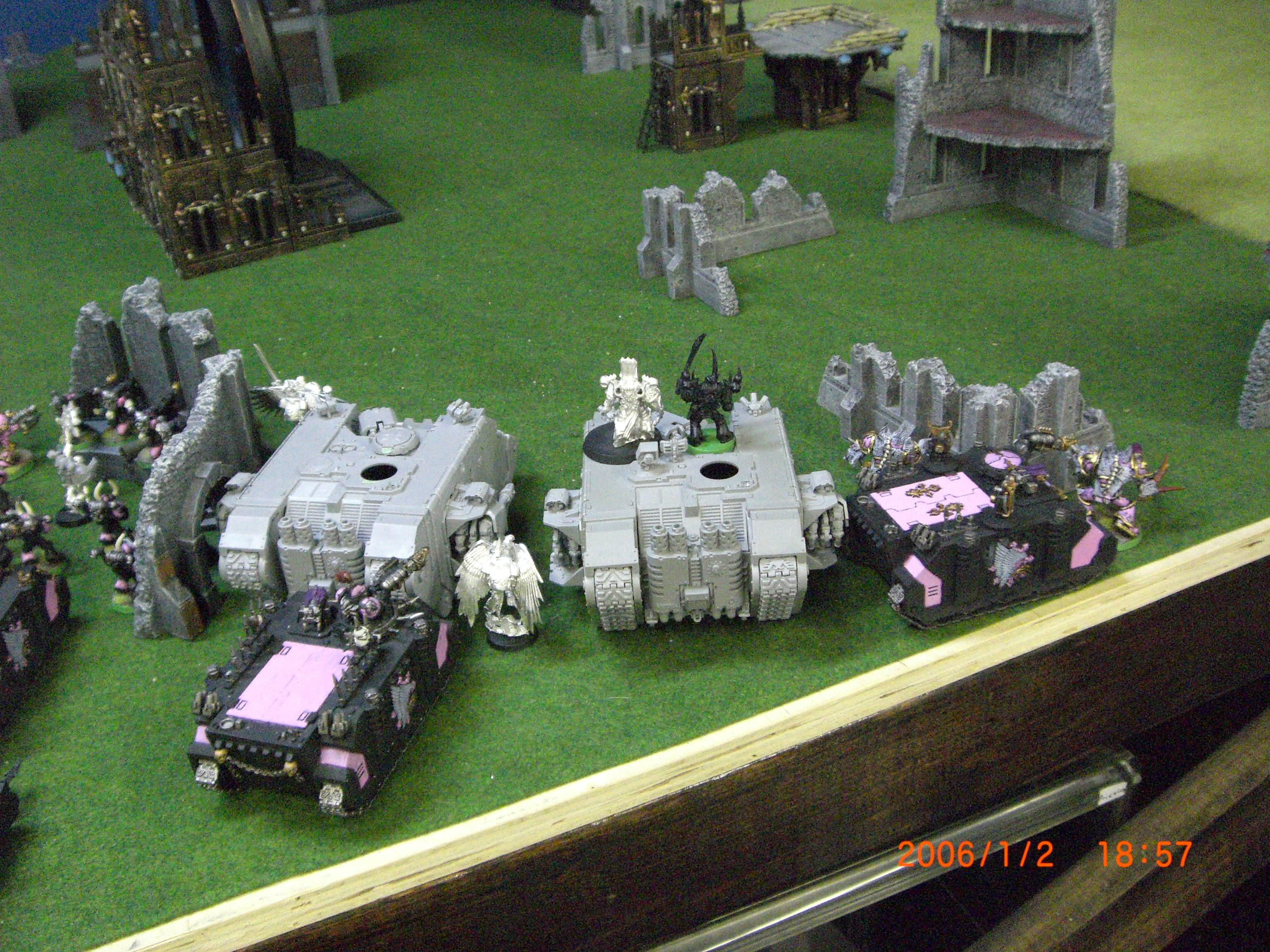 Battle Report, Chaos Space Marines, Picture, Space Marines