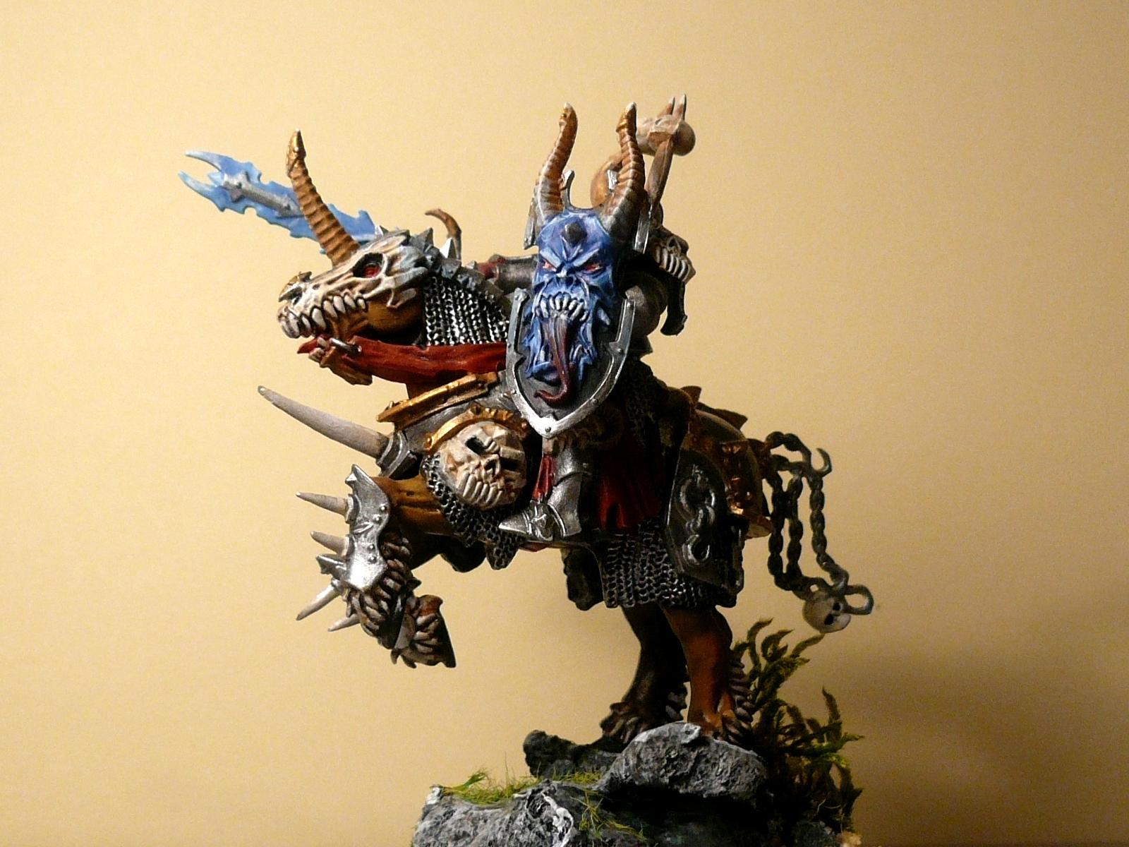 Chaos, Dark Knight, Horse, Mounted, Warhammer Fantasy