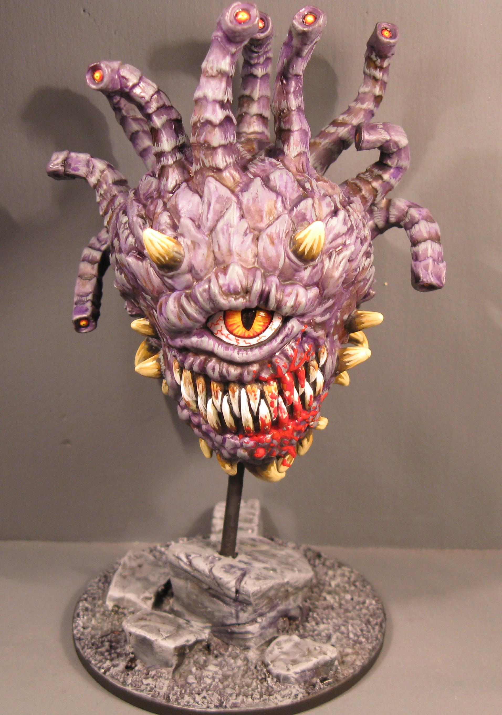 Beholder, D, Dungeons And Dragons, Pro Painted, Rpg
