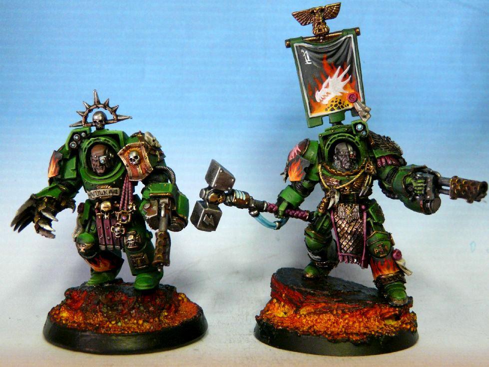 Badab War, Salamanders, Terminator Armor