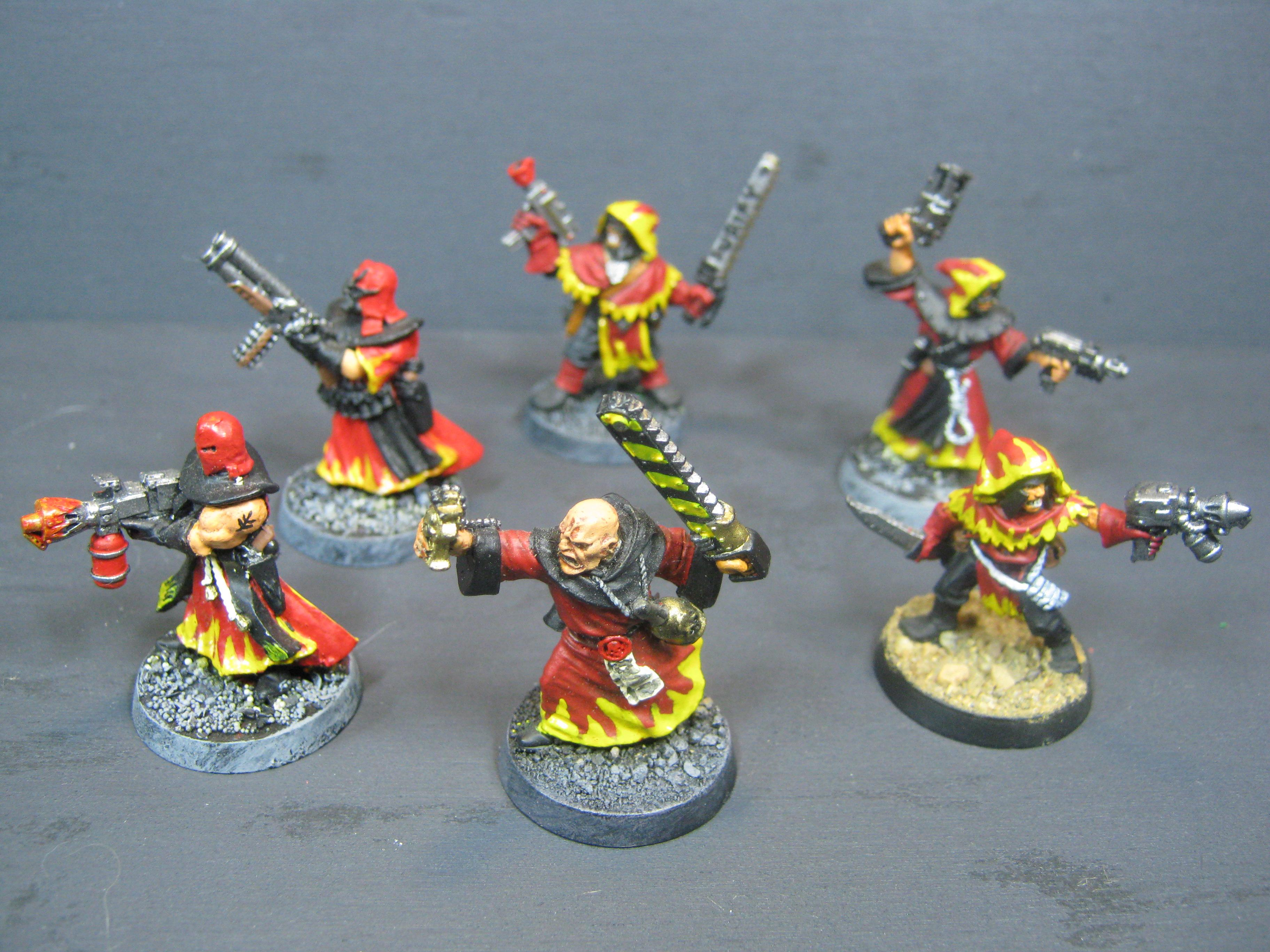 Inquisition, Necromunda, Out Of Production, Redemptionists, Warhammer 40,000, Witch Hunters