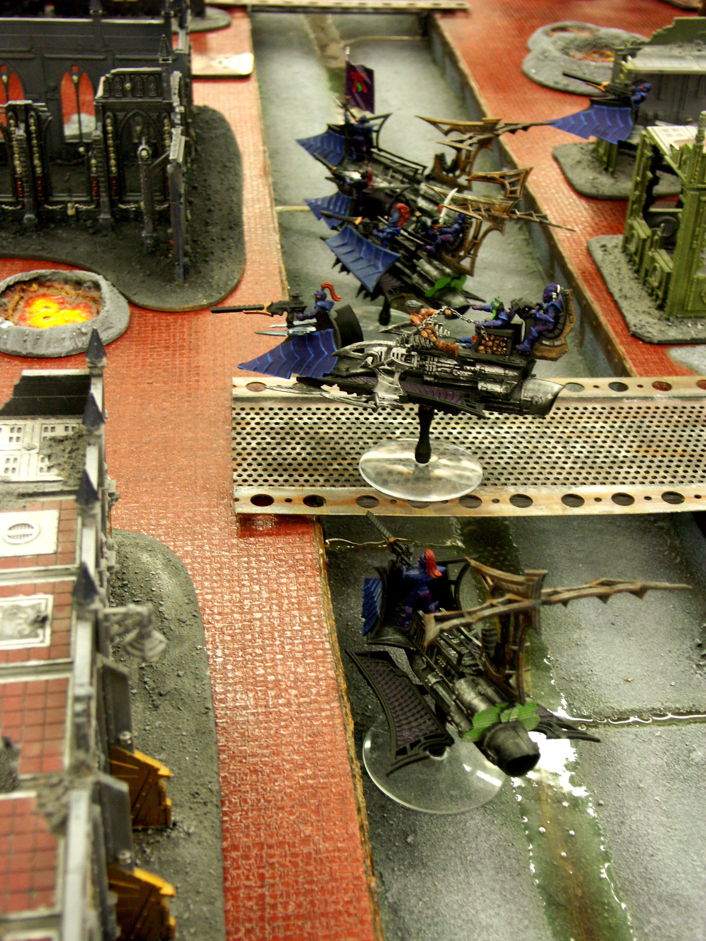 Battle Report, Dark Eldar, De, Tau