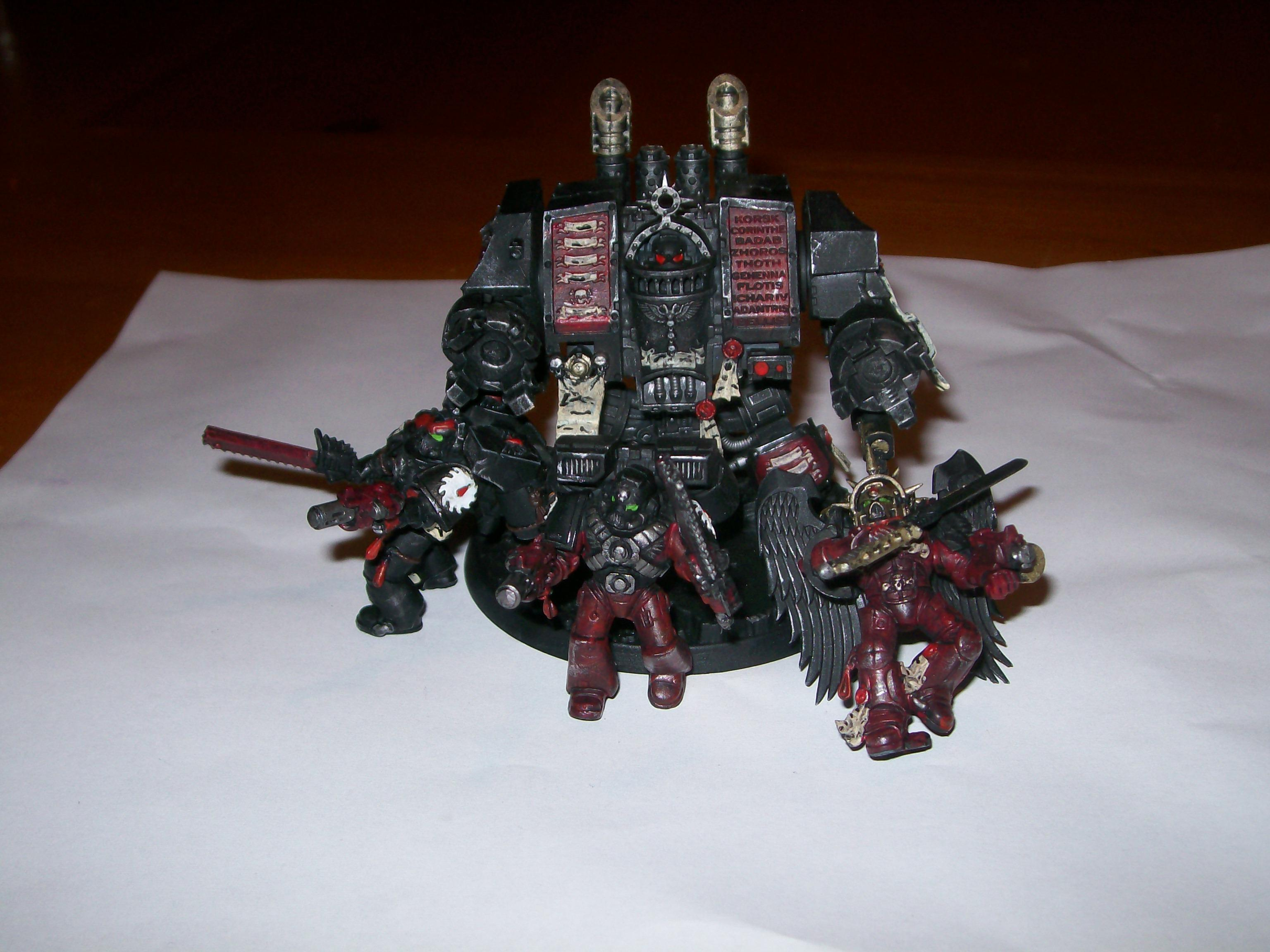 Blood Angels, Death Company, Dreadnought, Flesh Tearers, Sanguinary Guard