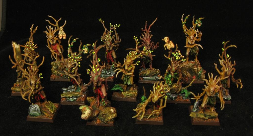 We, Wood Elves, we dryads