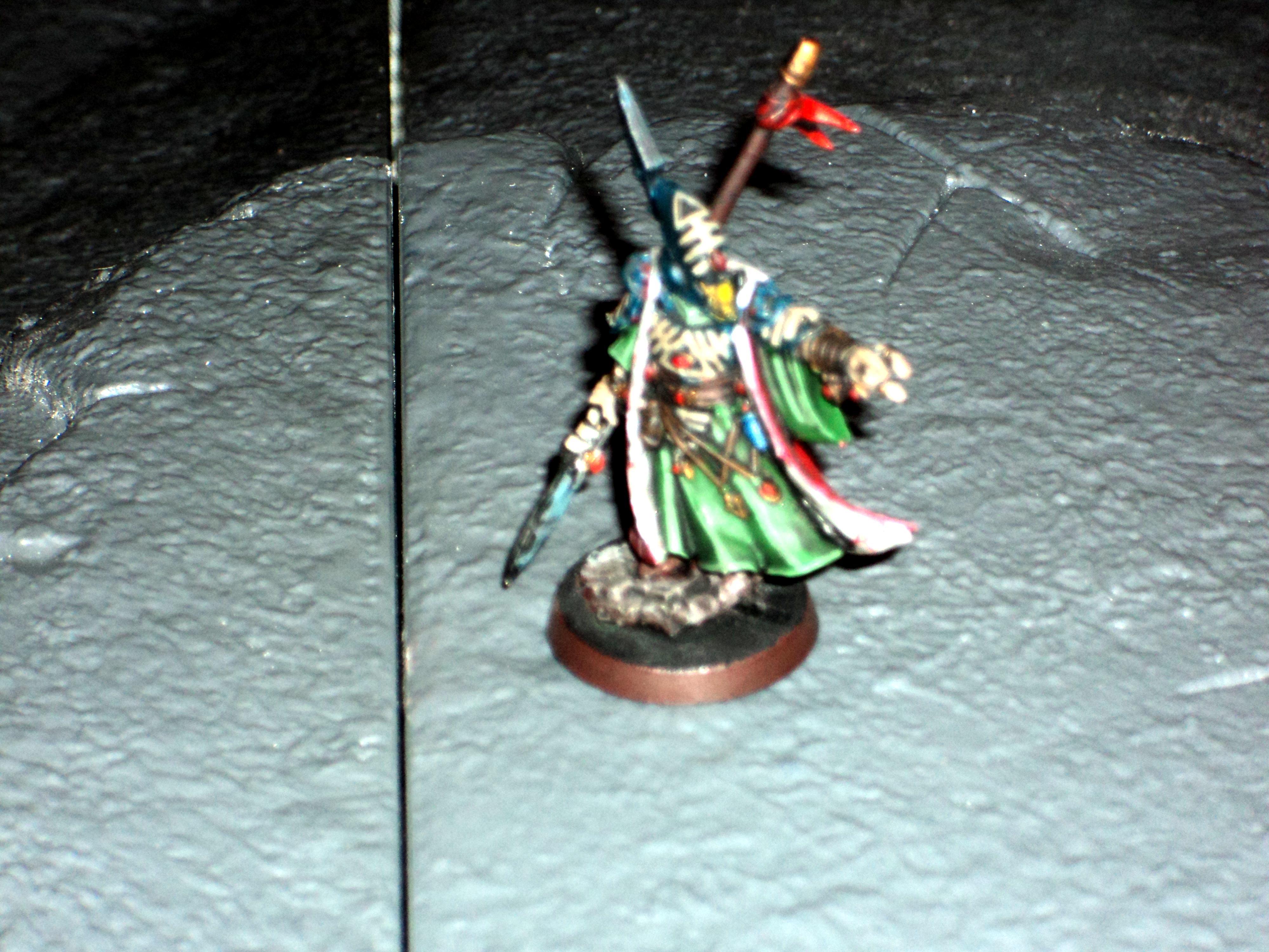 Alaitoc, Blurred Photo, Eldar, Farseer, Warhammer 40,000