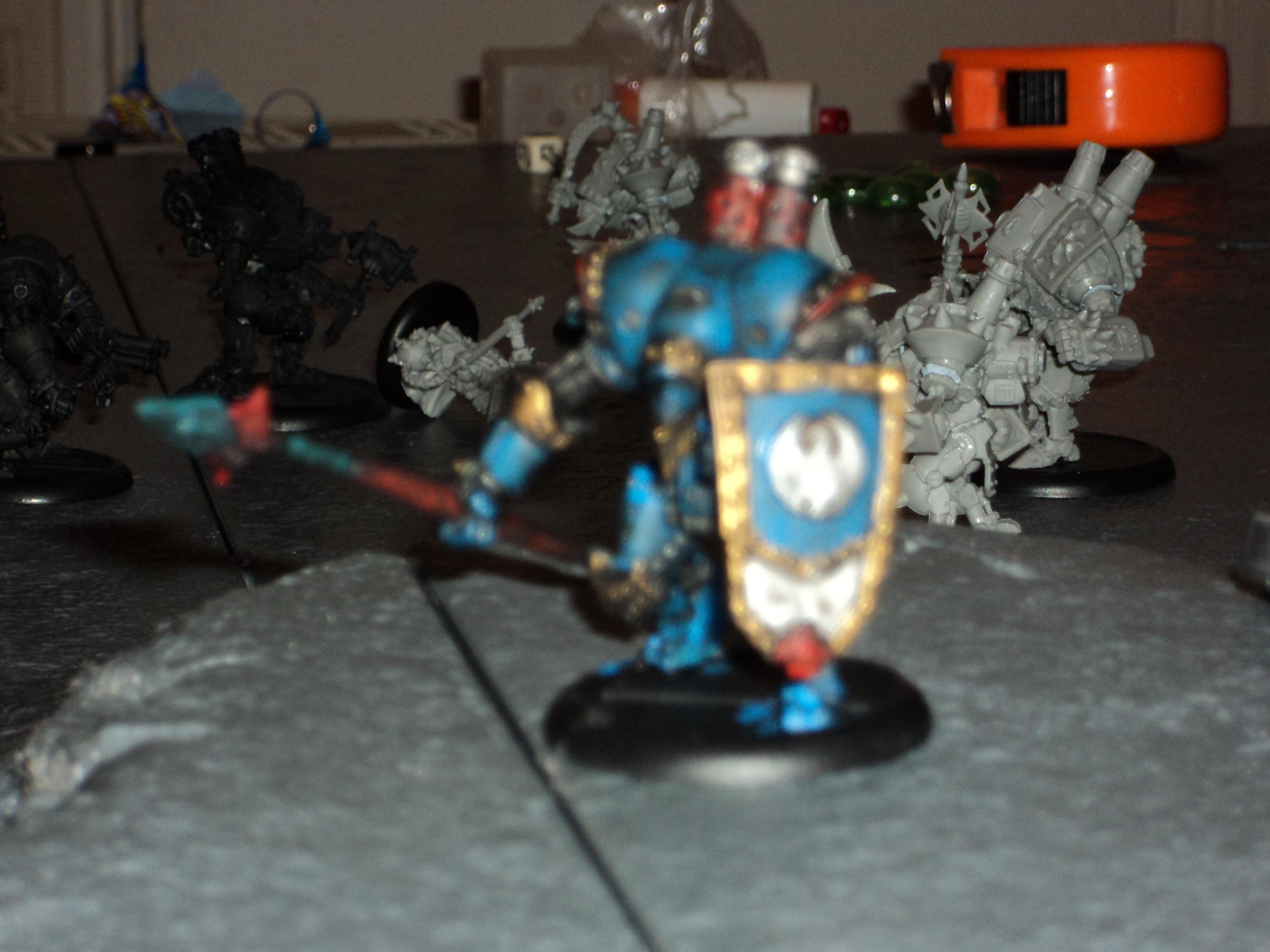 Cygnar, Lancer, Warjack, Warmachine